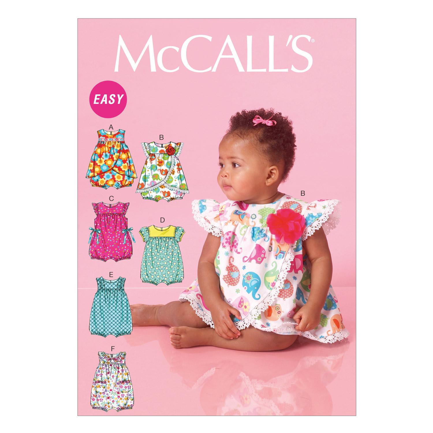 McCalls M7107 Infants/Toddlers