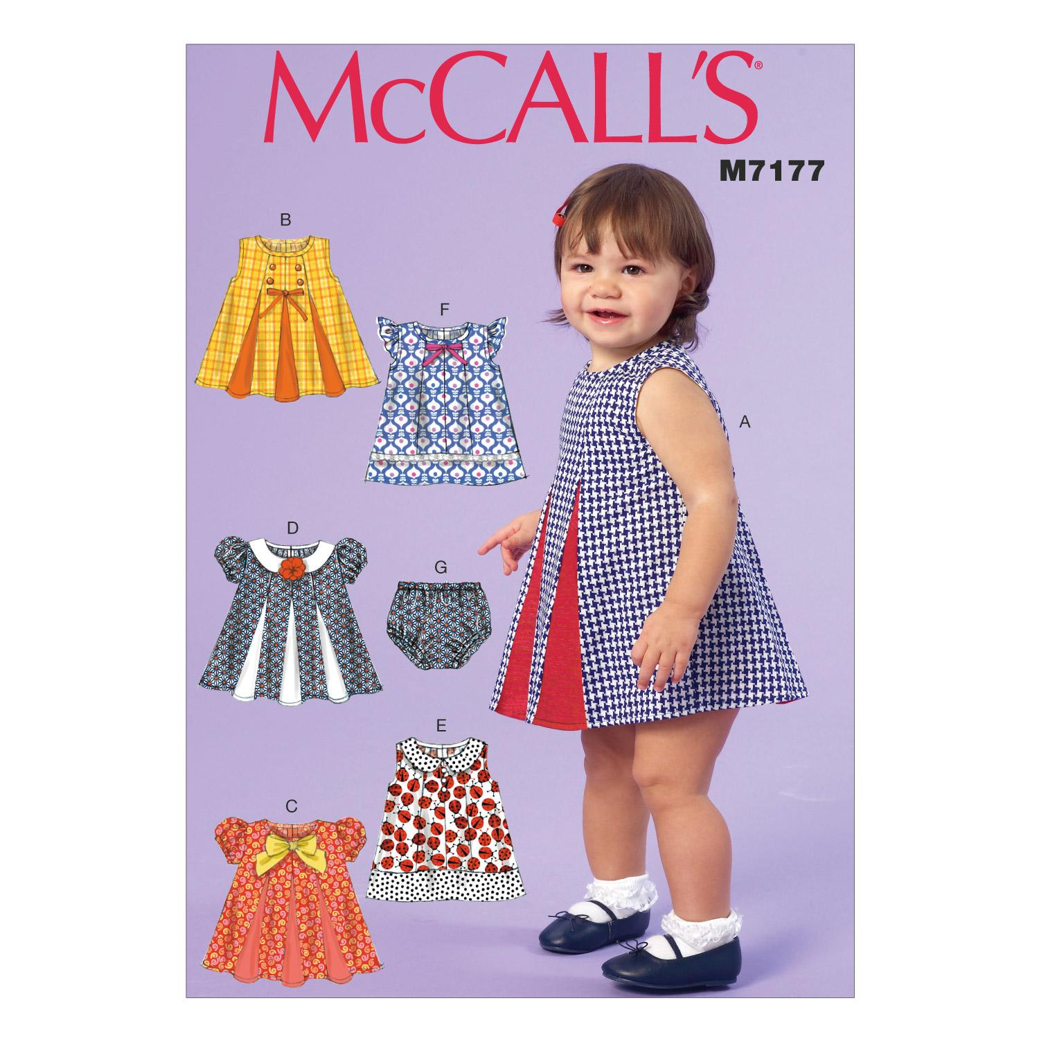 McCalls M7177 Infants/Toddlers