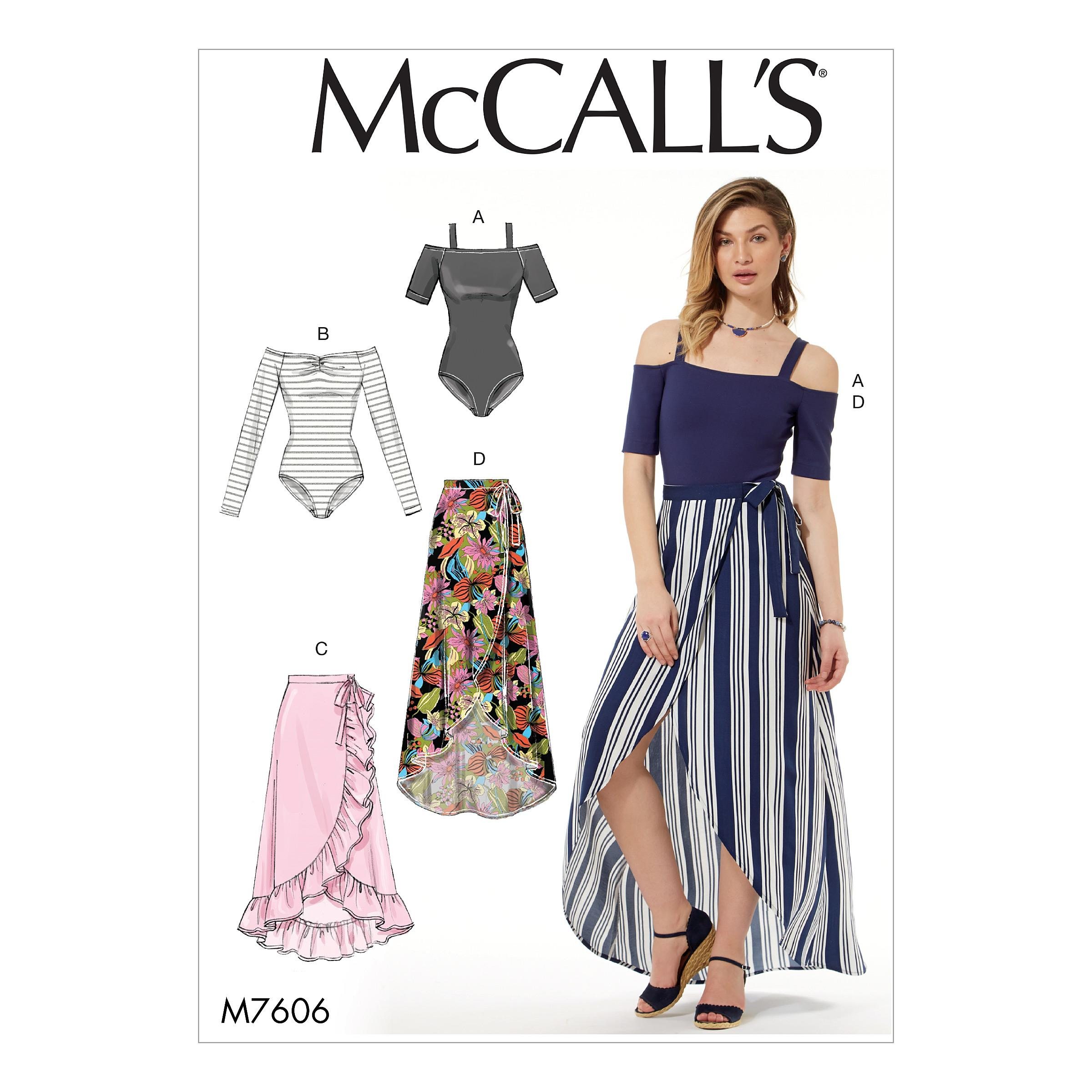 McCalls M7606 Misses Pants, Jumpsuits & Shorts