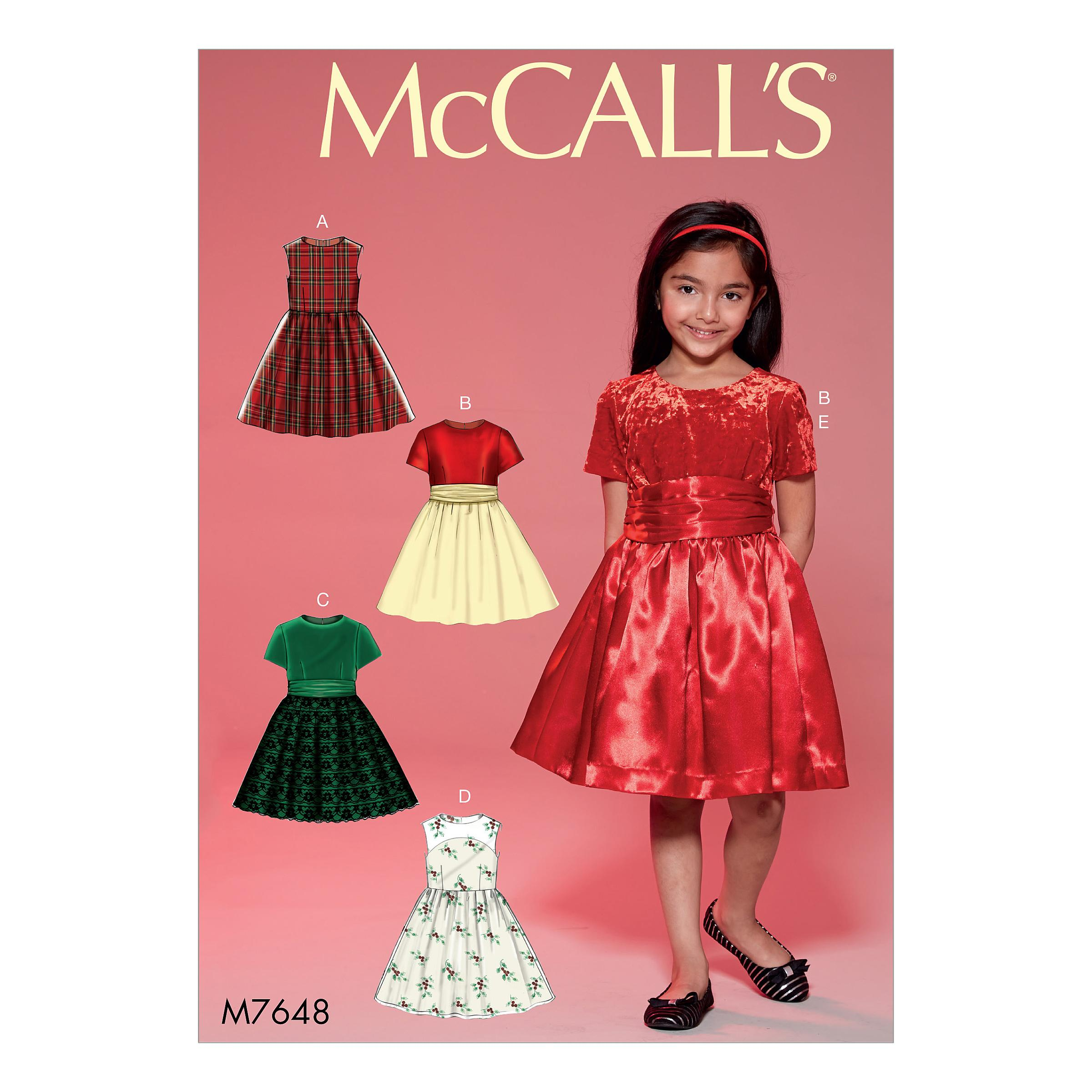 McCalls M7648 Kids Girls & Boys, Kids Children
