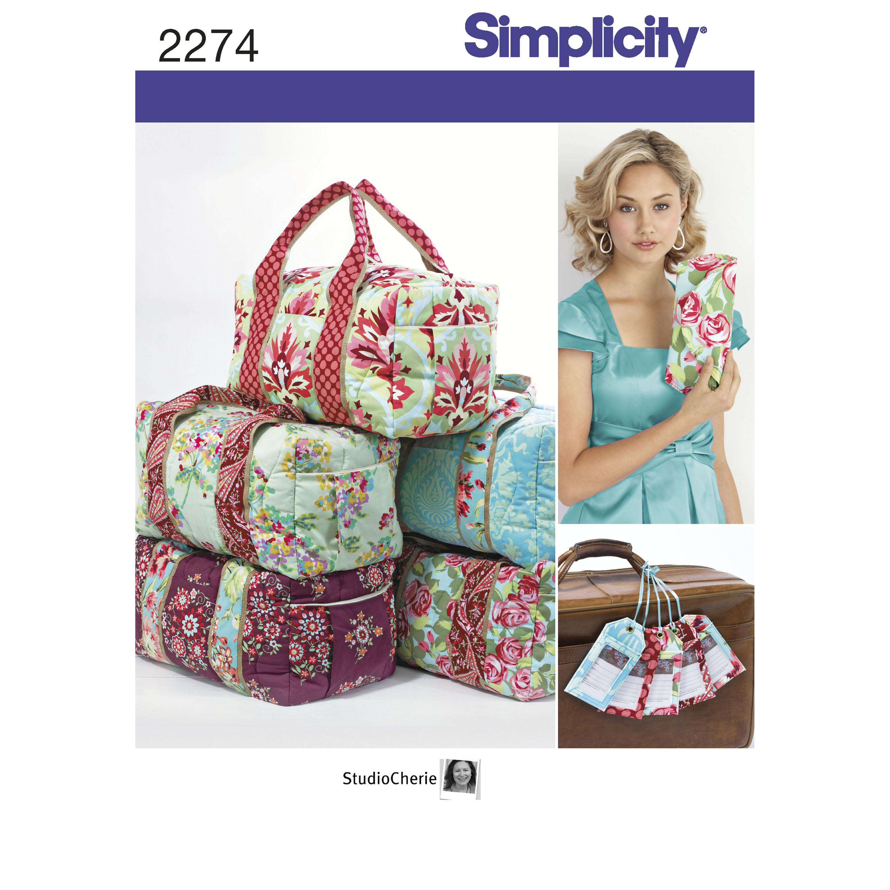 Simplicity S2274 Bags