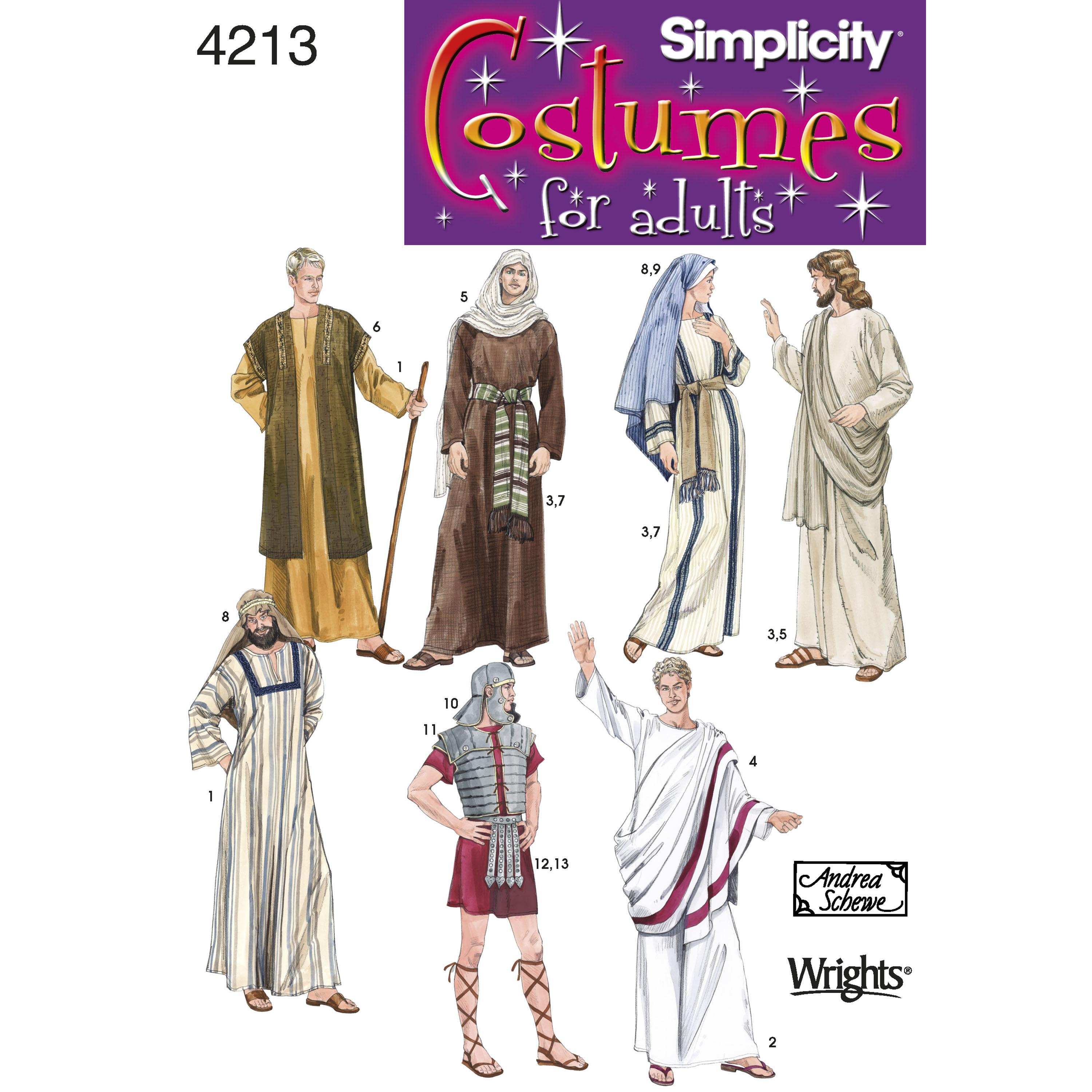 Simplicity S4213 Adult Costumes