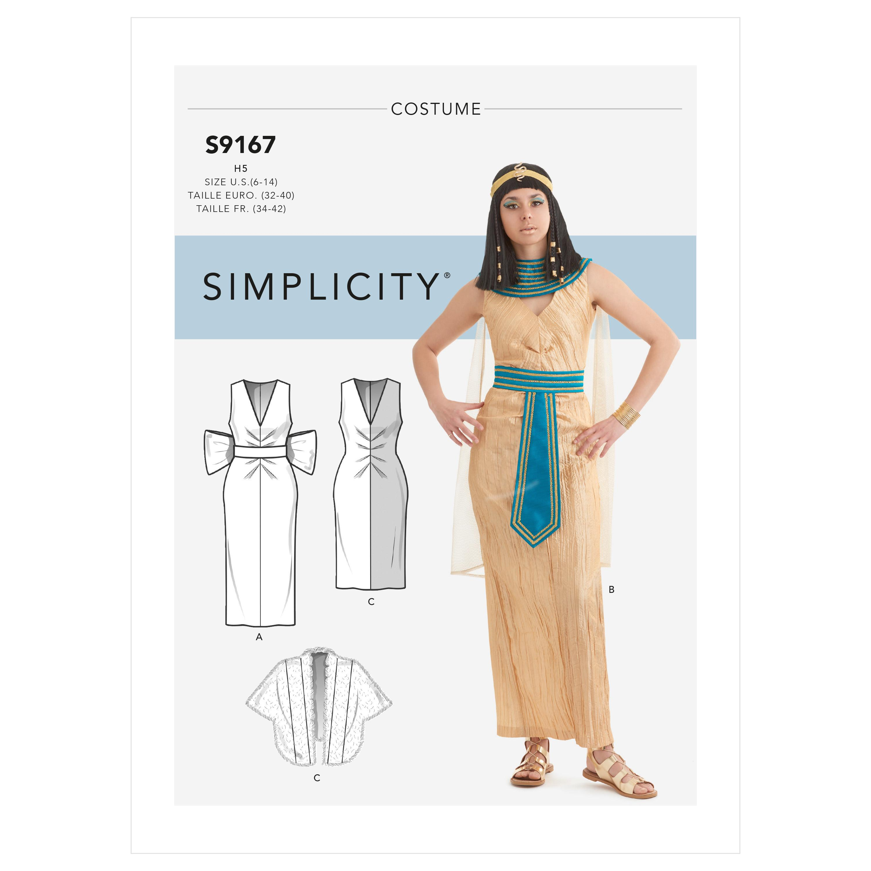Simplicity S9167 Misses' Costumes