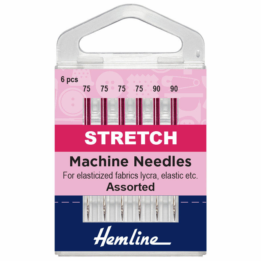Sewing Machine Needles: Stretch: Mixed