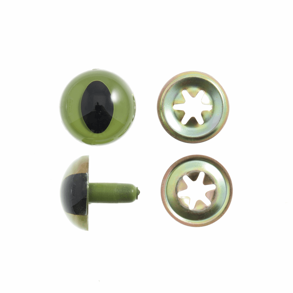 Toy Eyes: Safety: Cats: 18mm: 2 Pack