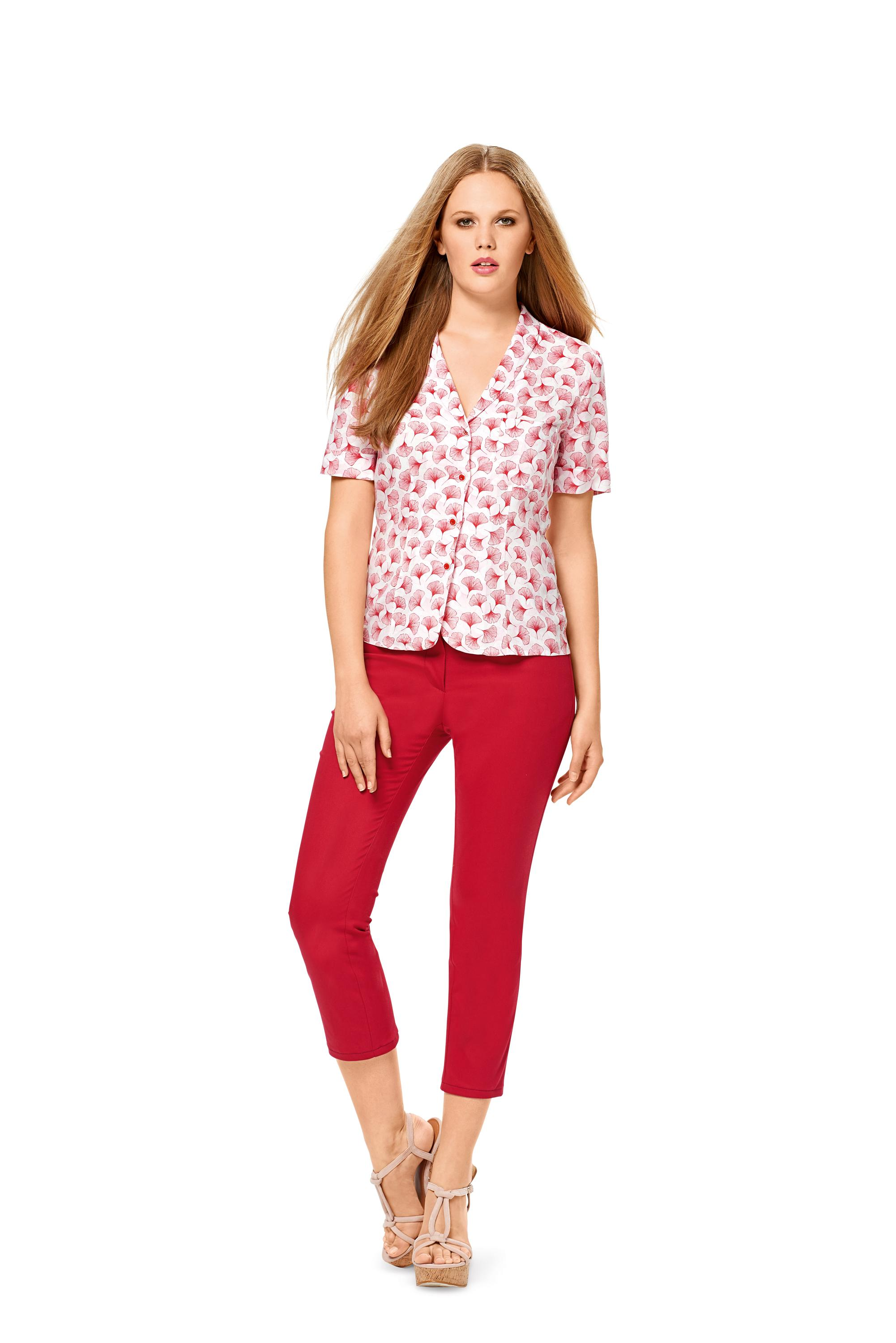Burda B6533 Women's Blouse