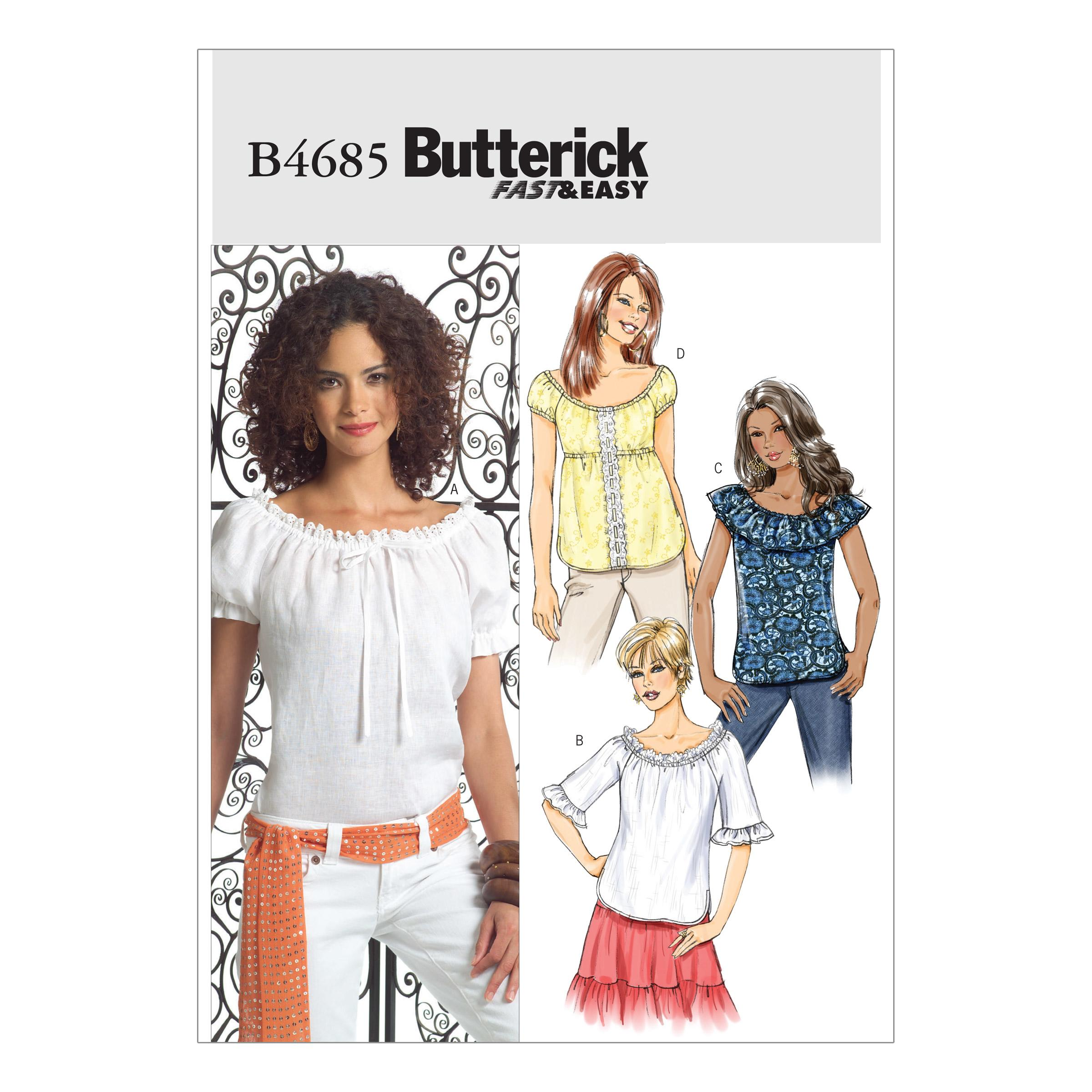 Butterick B4685 Misses' Top
