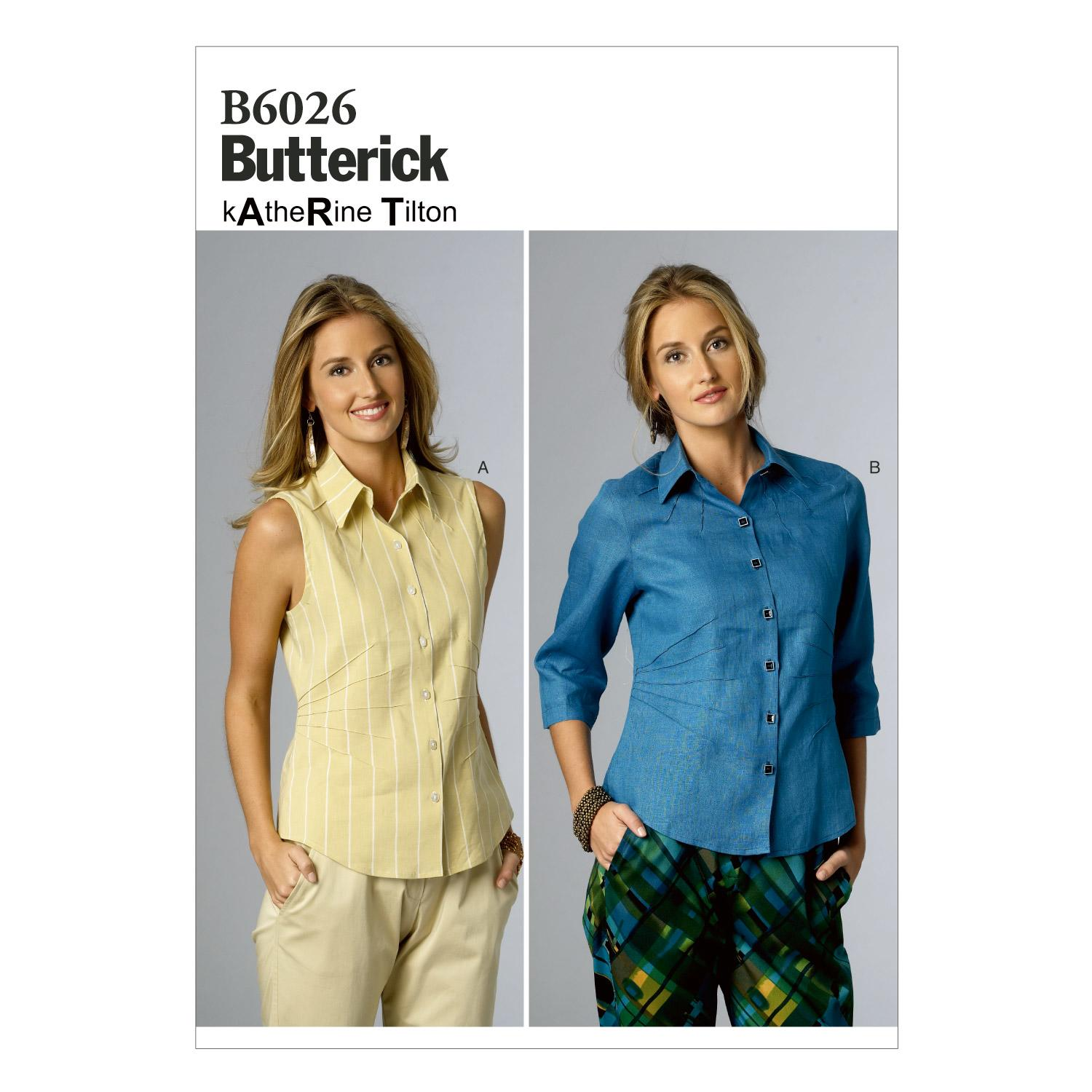 Butterick B6026 Misses' Top