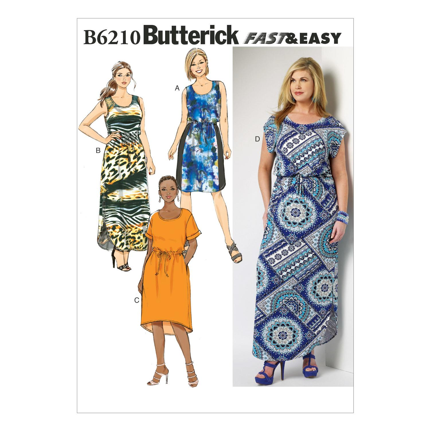 Butterick B6210 Women's/Women's Petite Dress