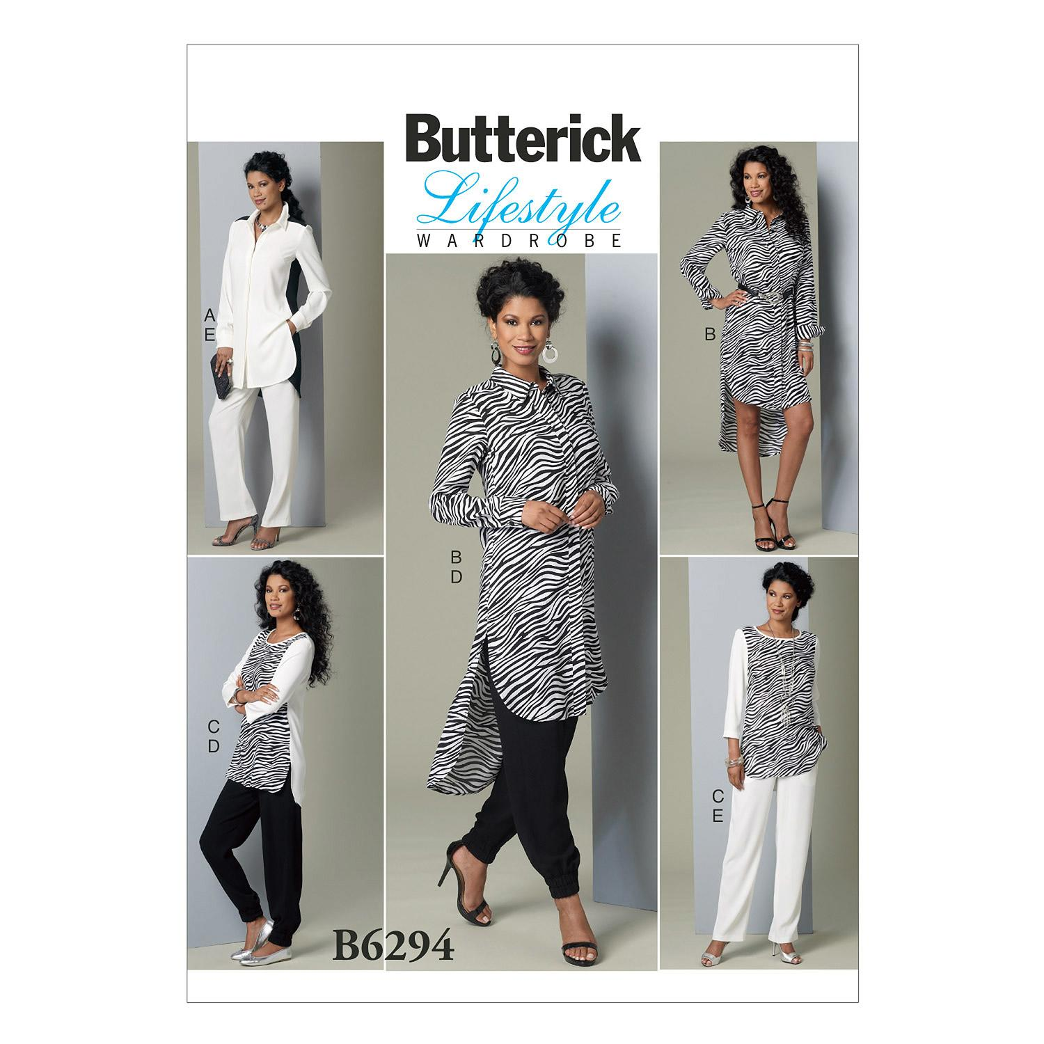 Butterick B6294 Misses' Tunic and Pants