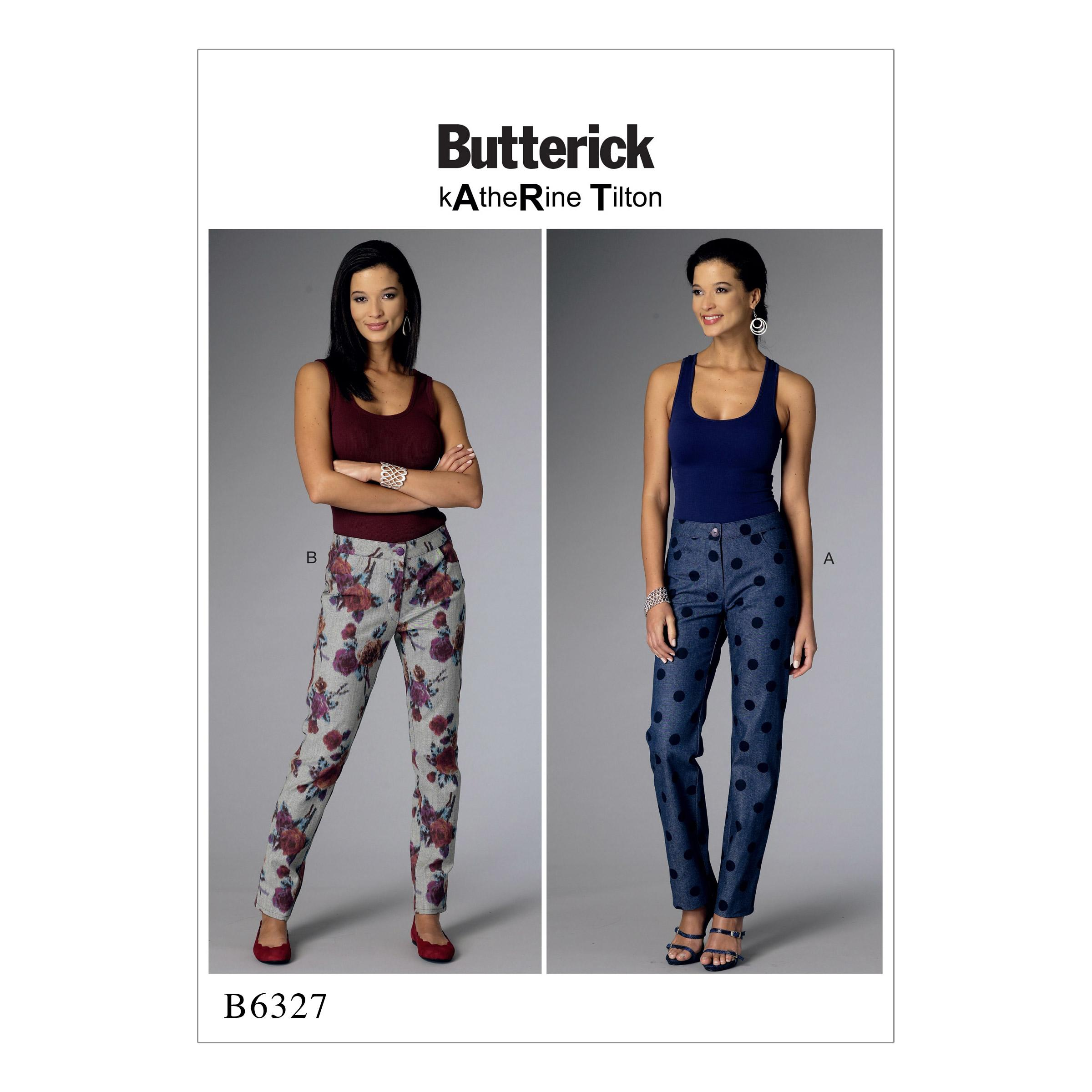 Butterick B6327 Misses' Tapered Pants