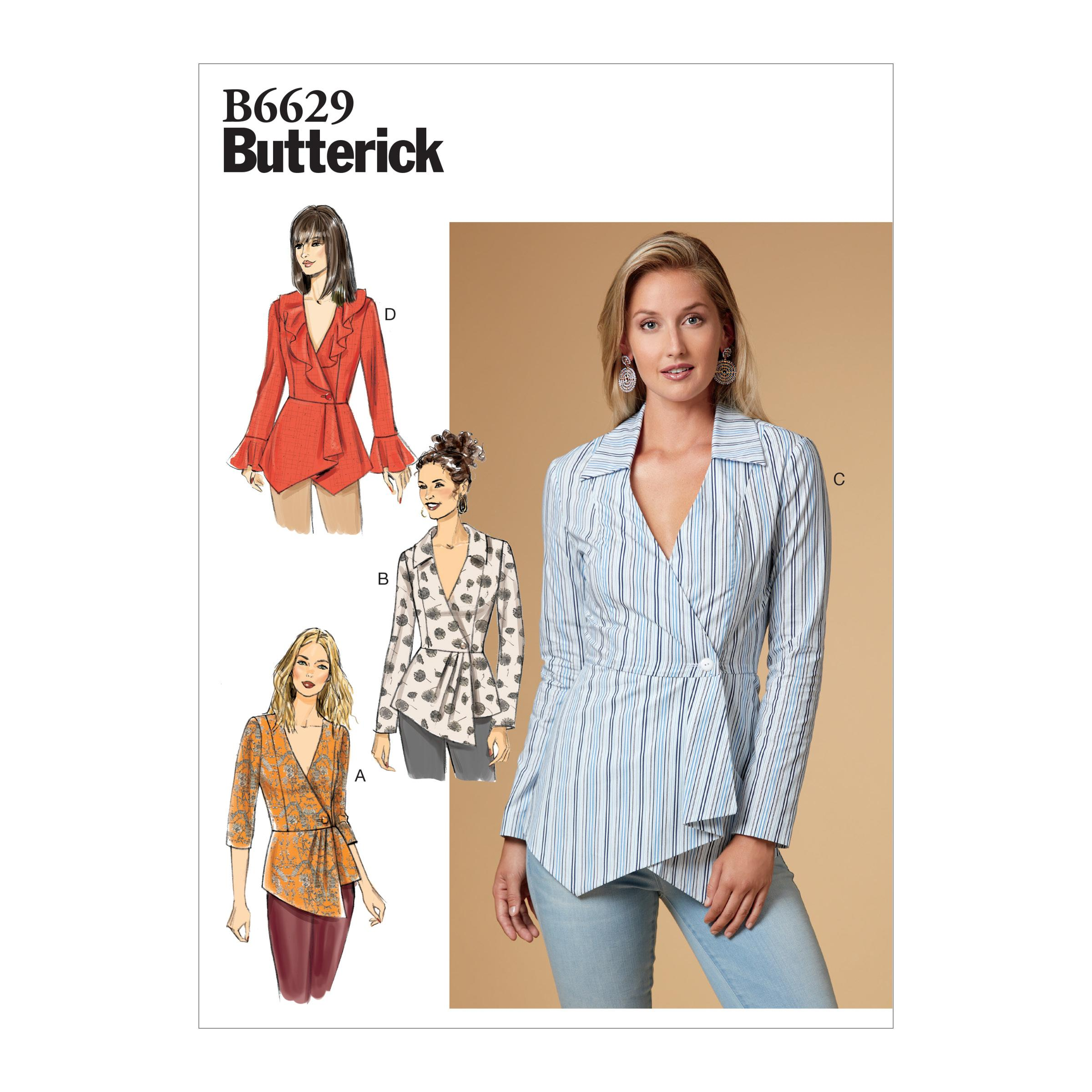 Butterick B6629 Misses' Top