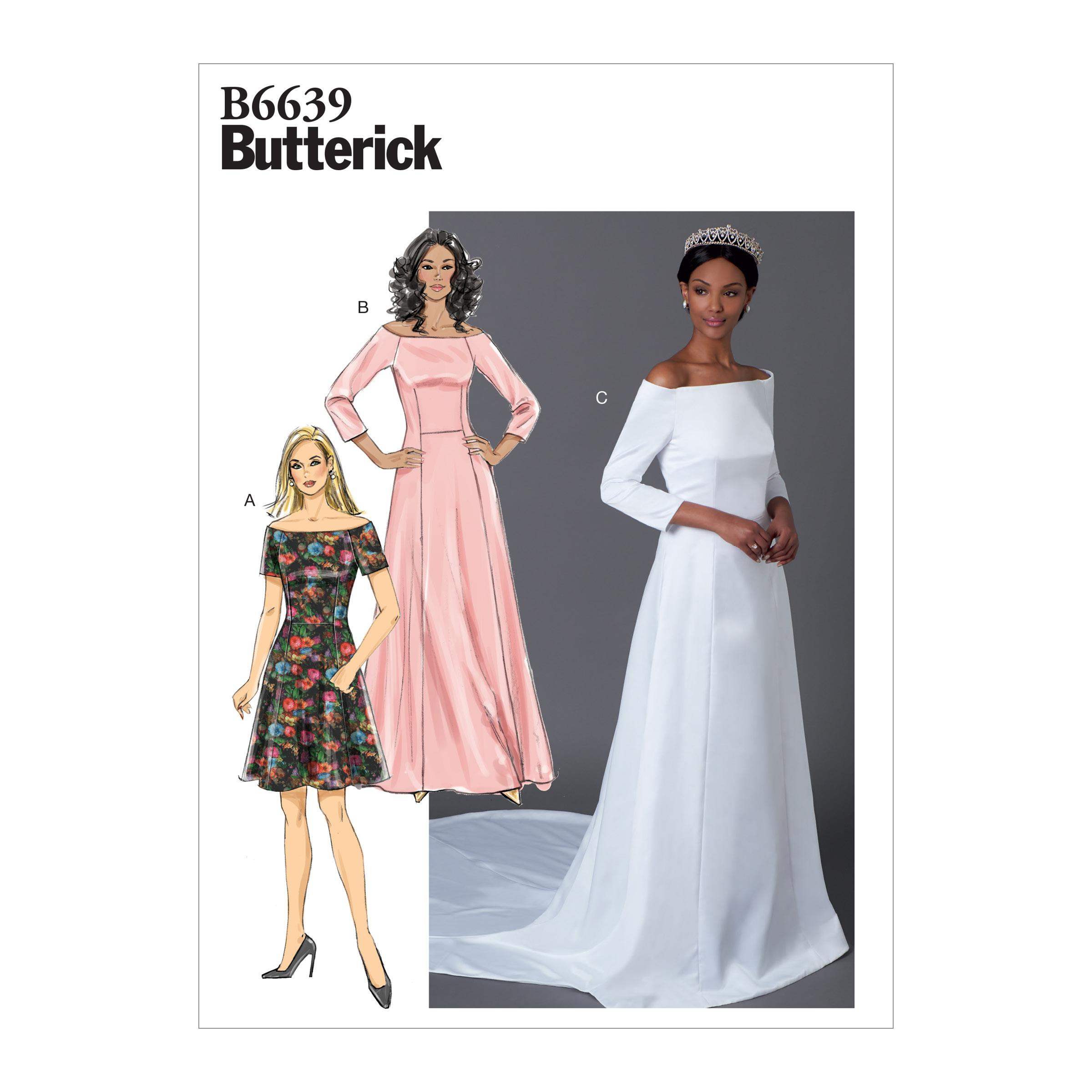 Butterick B6639 Misses' Dress