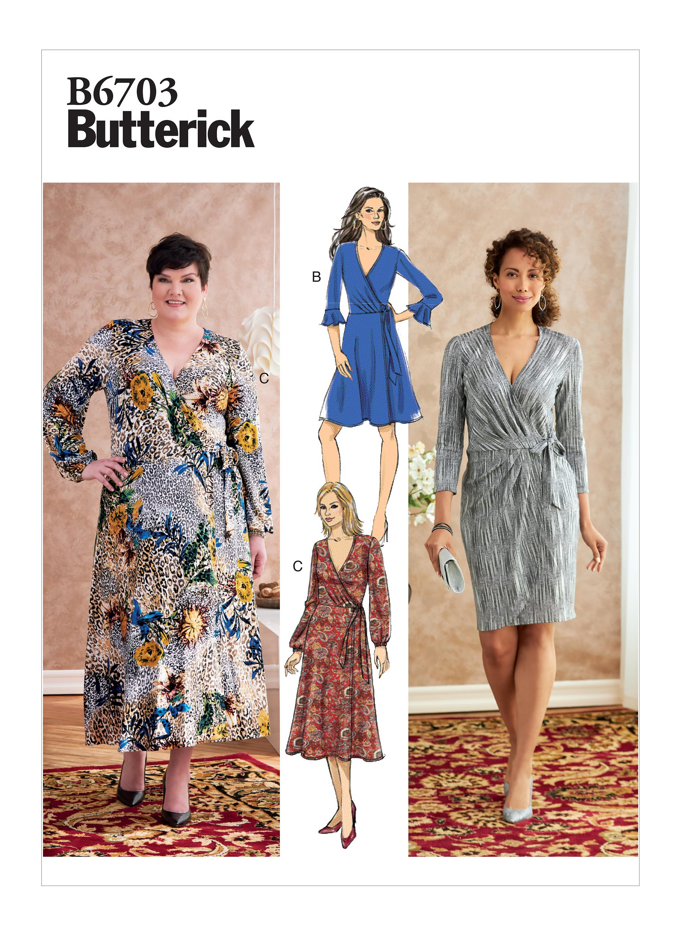Butterick B6703 Misses'/Women's Dress