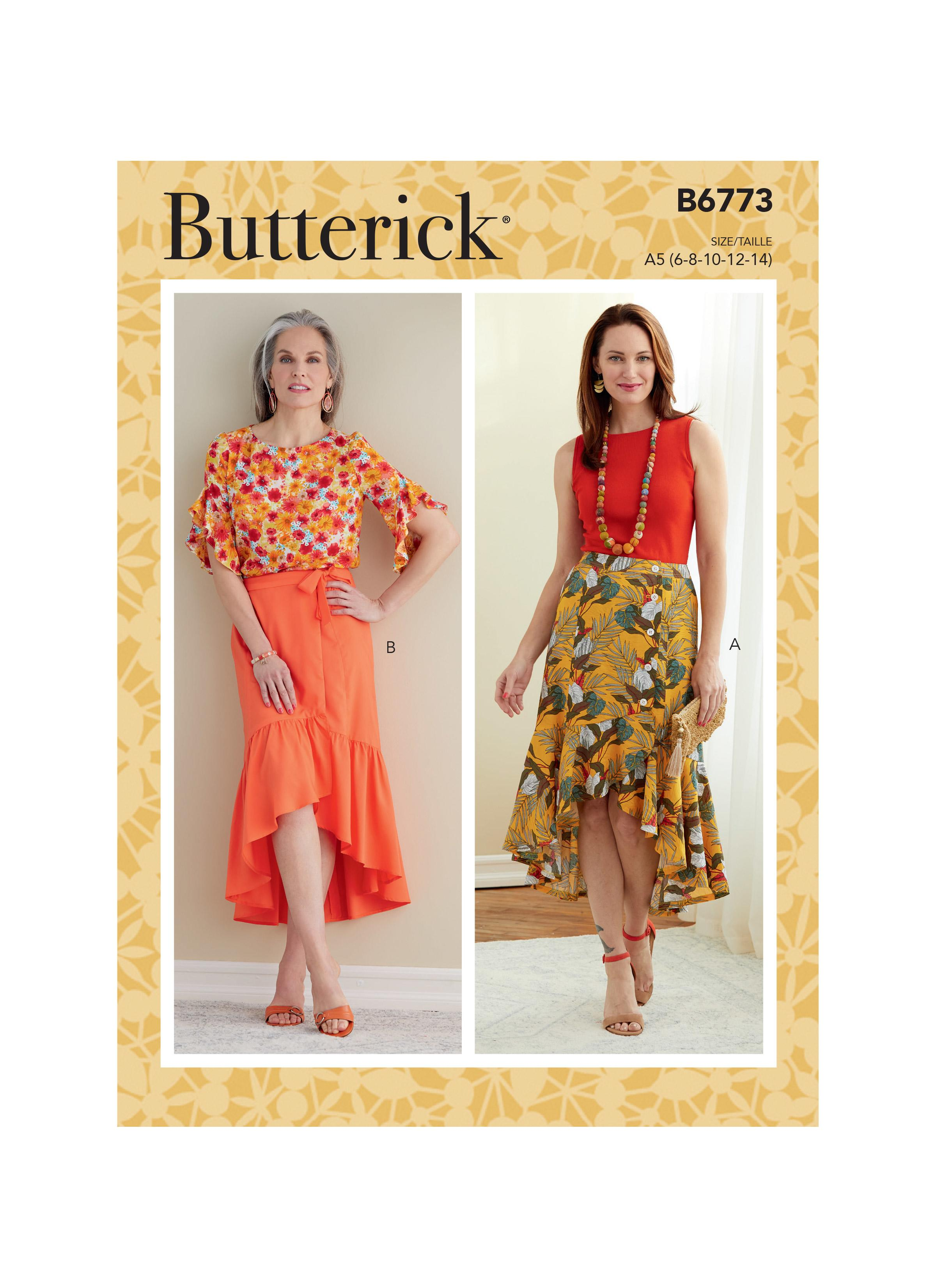 Butterick B6773 Misses' Skirt
