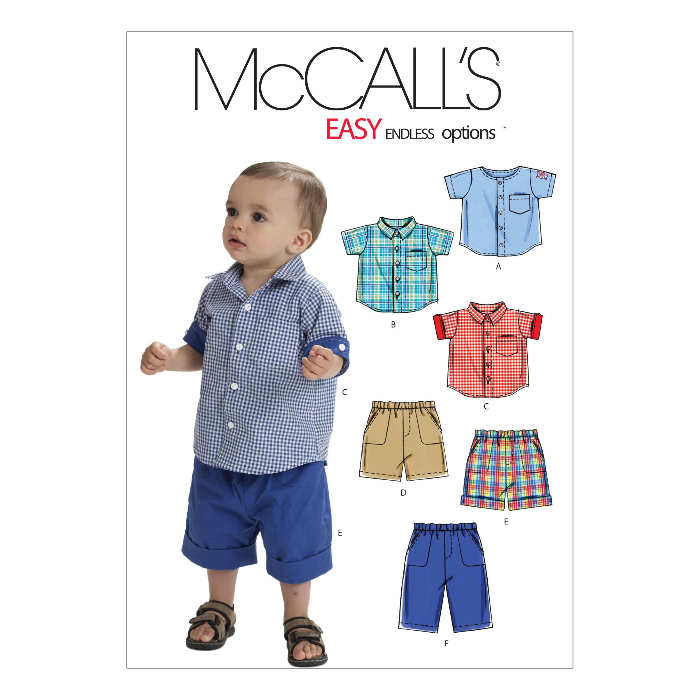 McCalls M6016 Infants/Toddlers