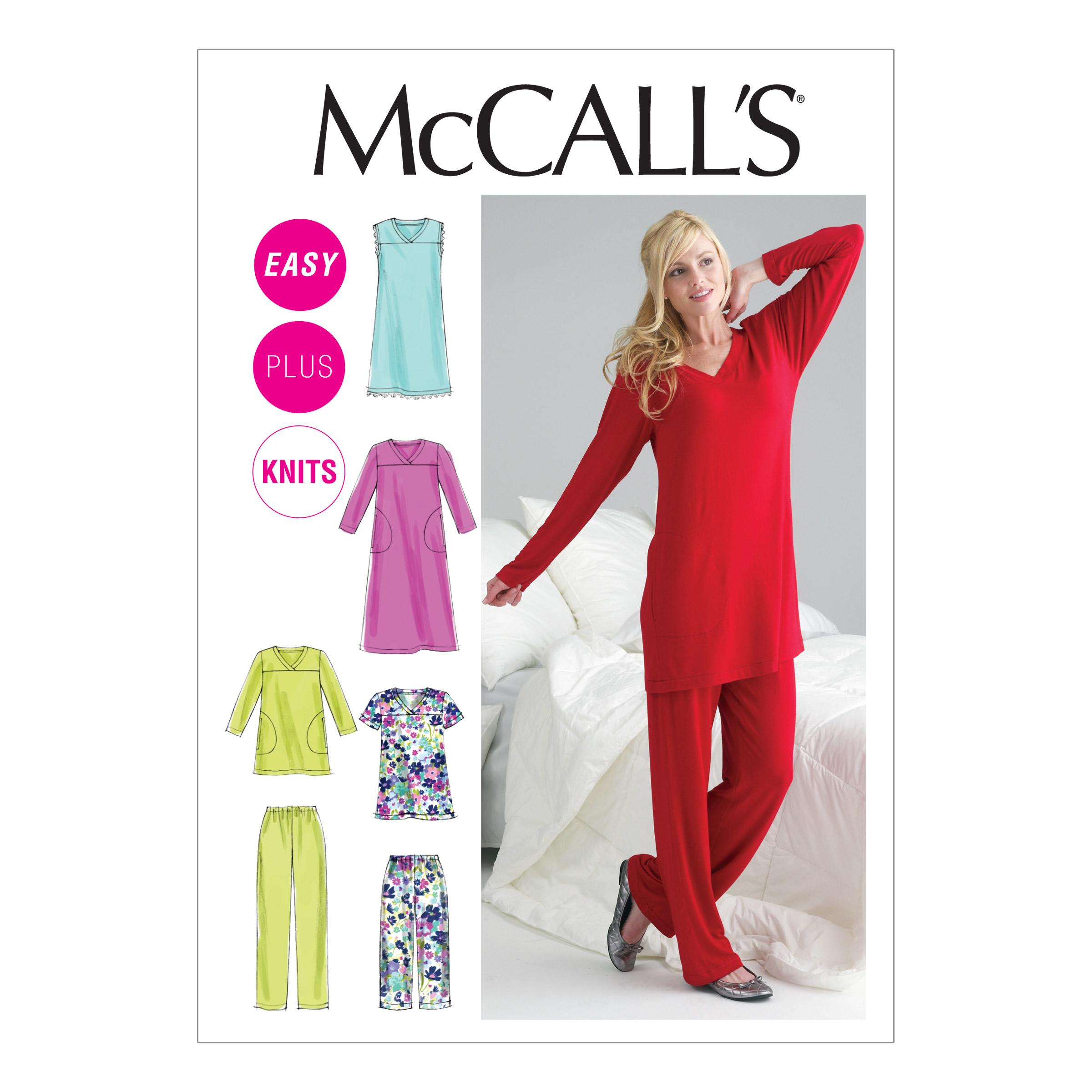 McCalls M6474 Family Sleepwear