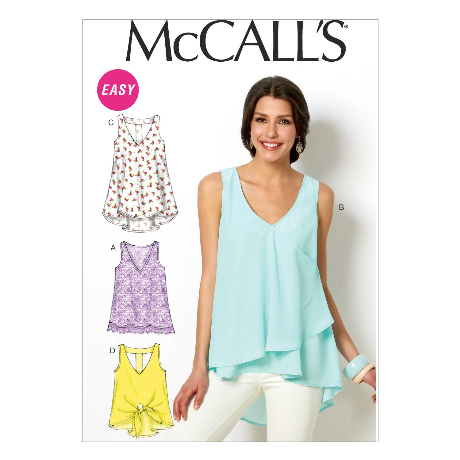 McCalls M6960 Tops/Tunics