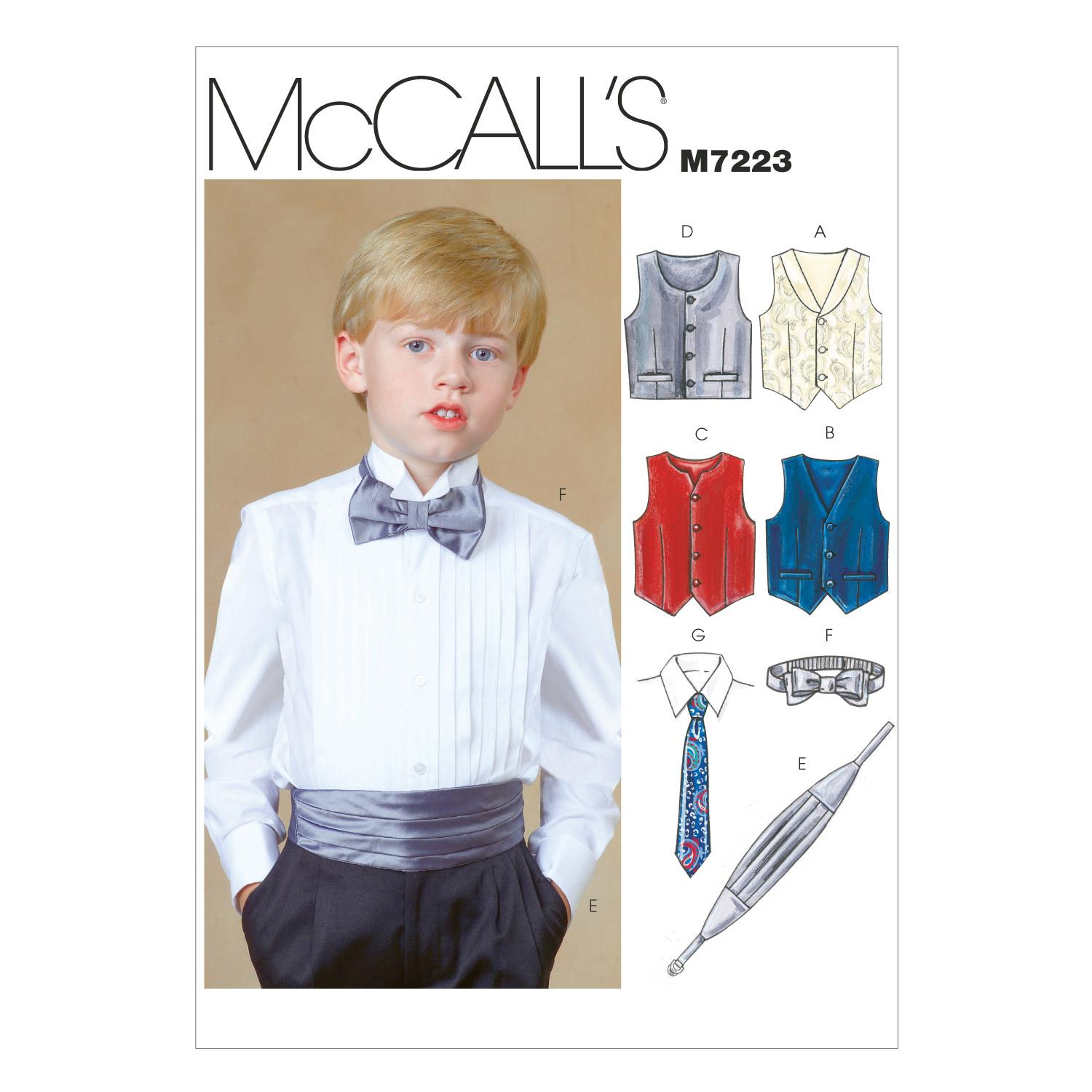 McCalls M7223 Children, Girls/Boys