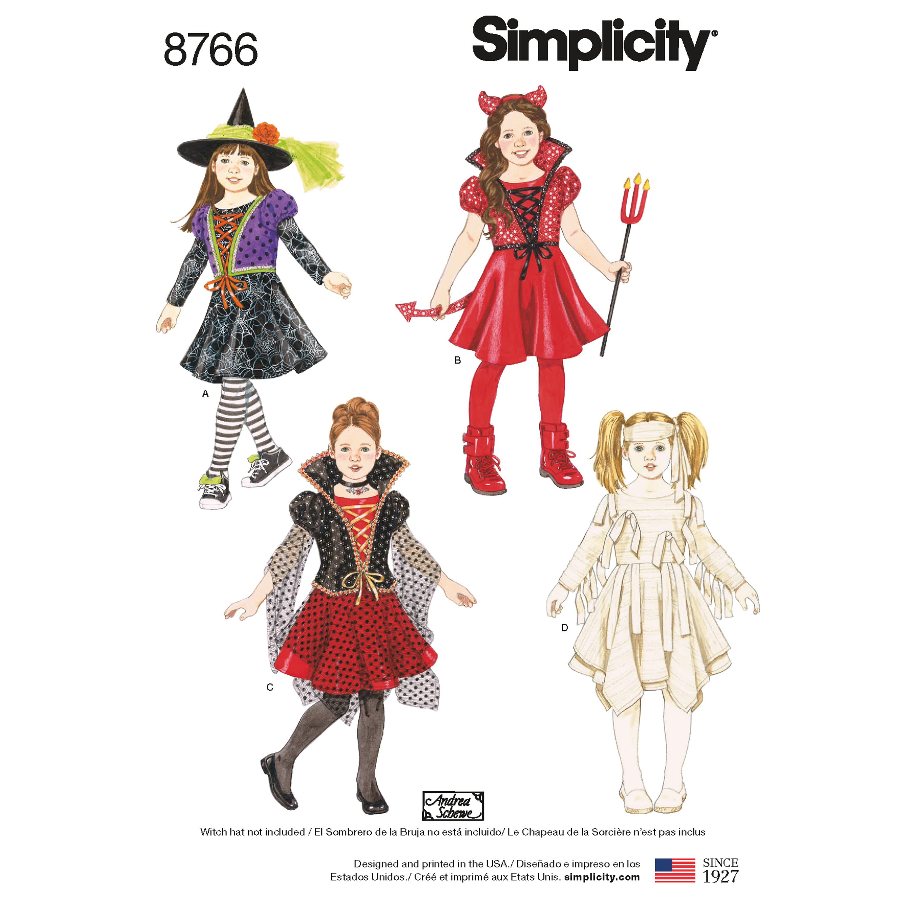 Simplicity S8766  Child's Costumes