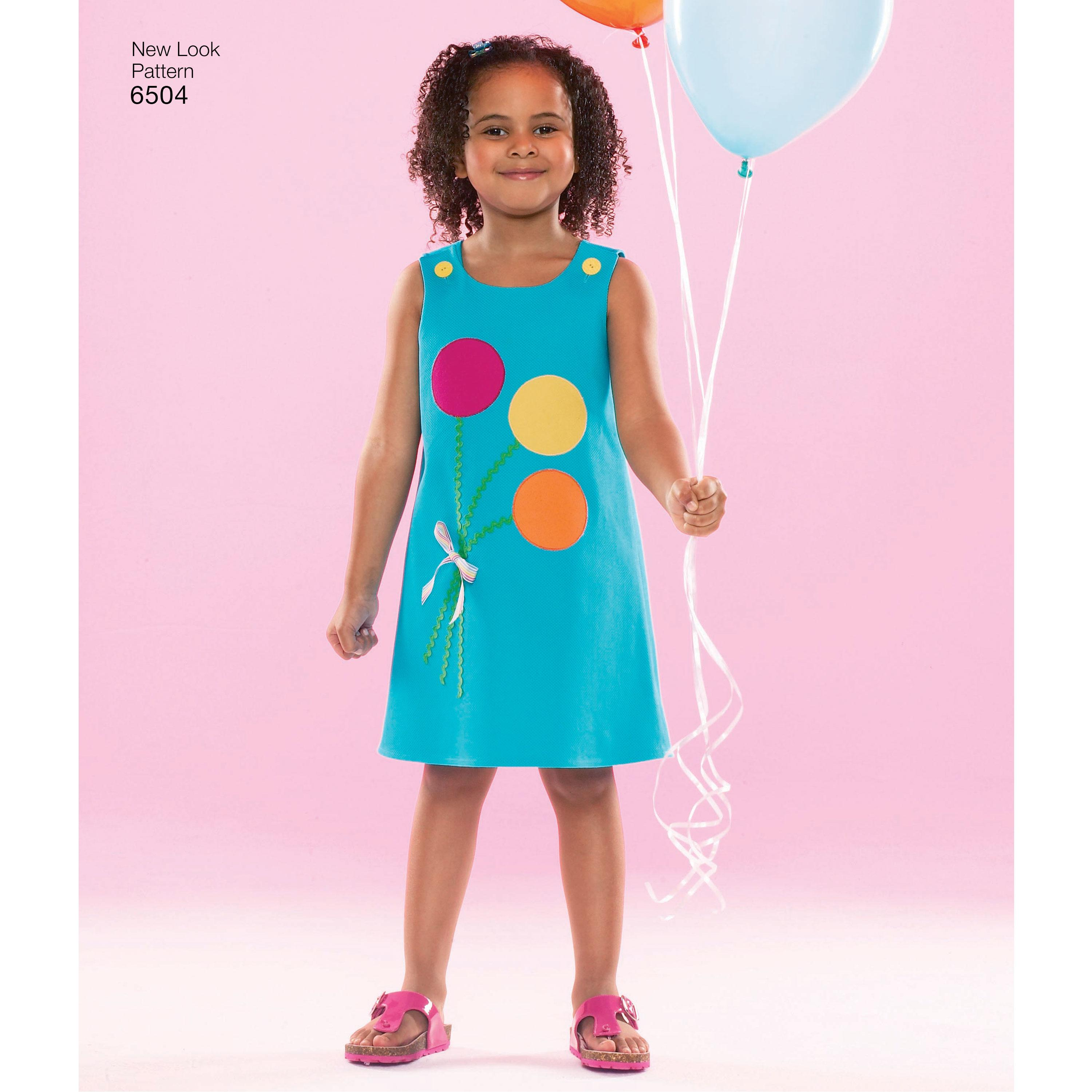 NewLook N6504 Child Dresses