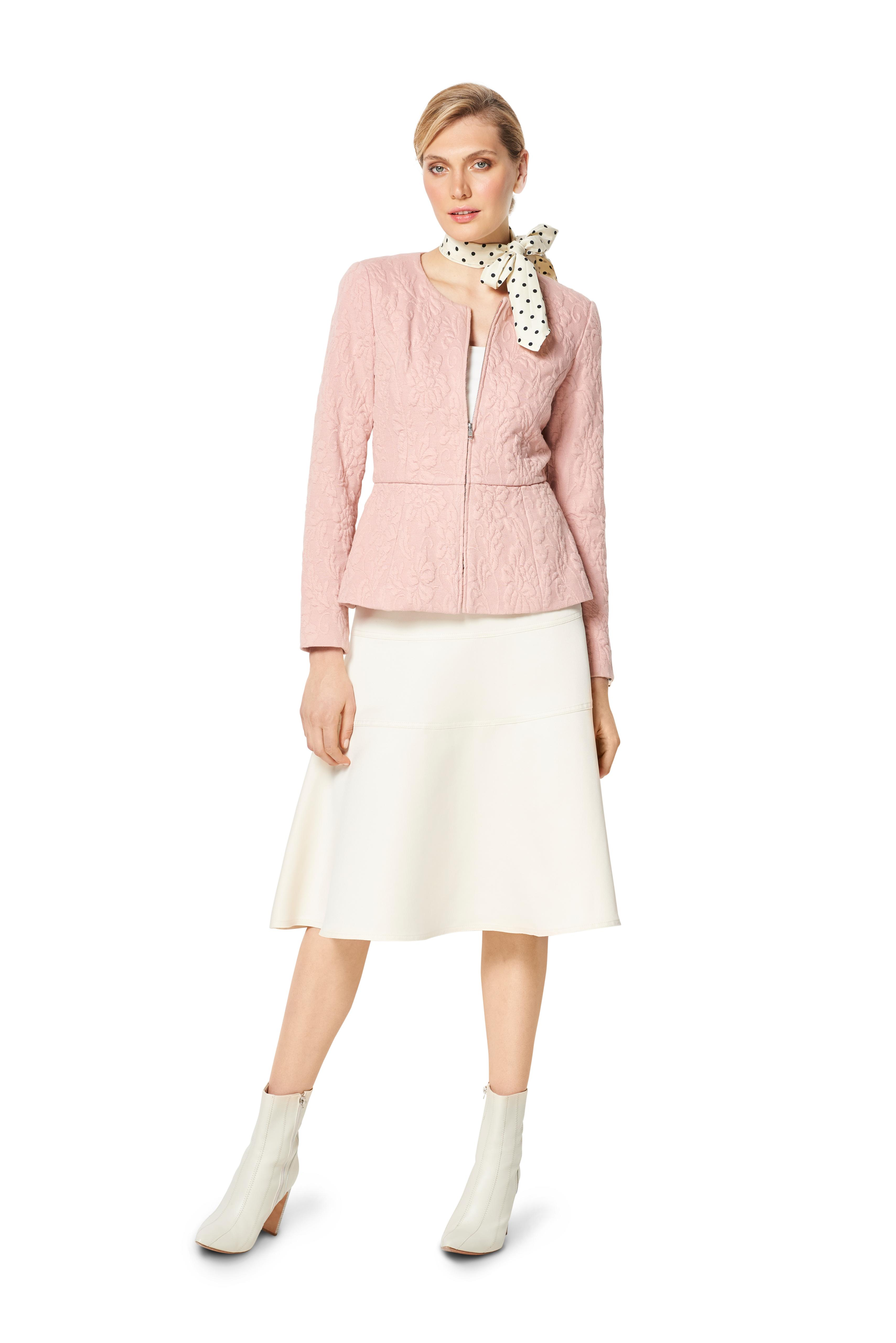 Burda 6334- Misses' peplum jacket