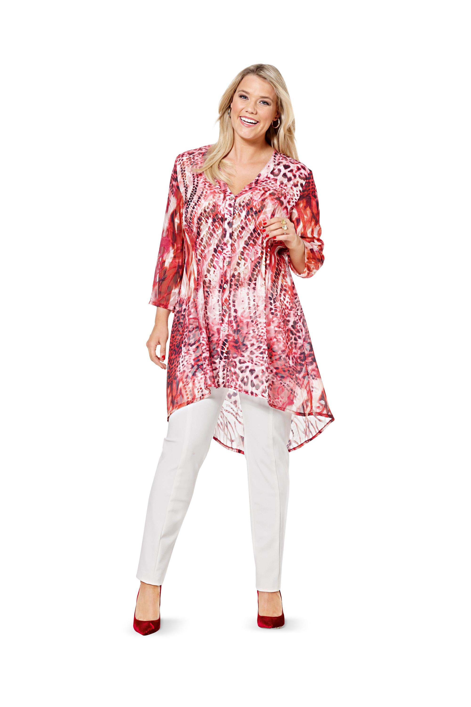 Burda 6615 Blouse