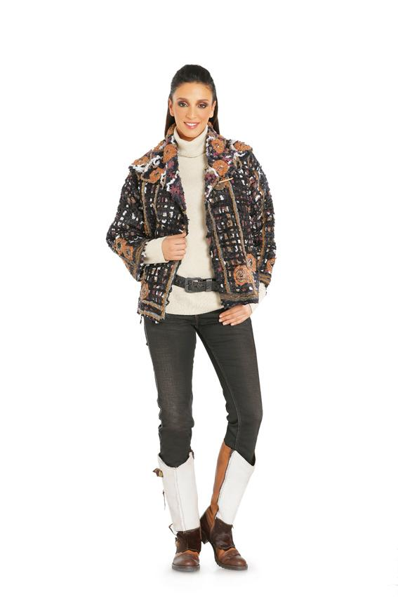 Burda B7700 Jacket Sewing Pattern