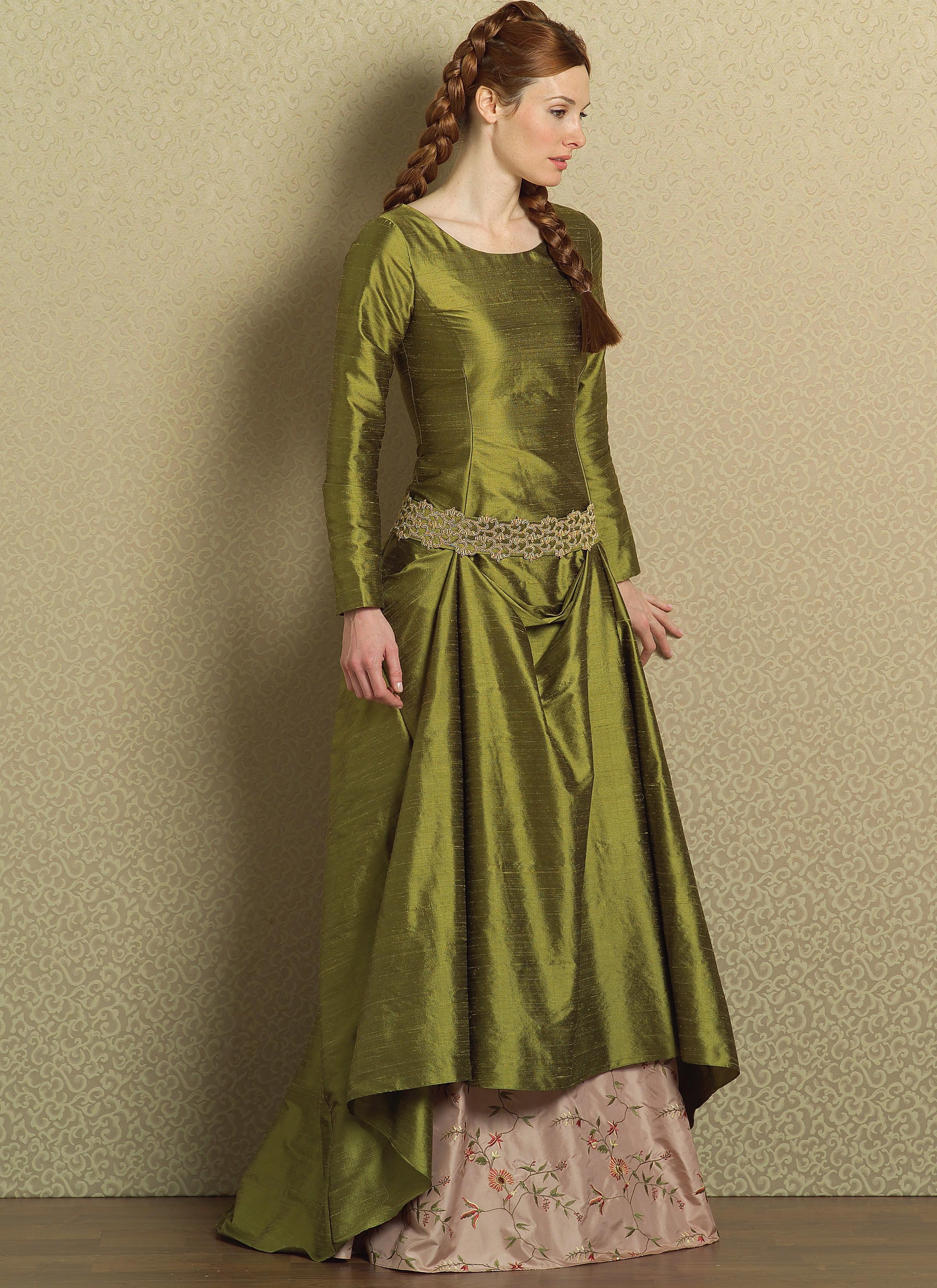 Butterick B4827 Misses' Medieval Dress and Belt