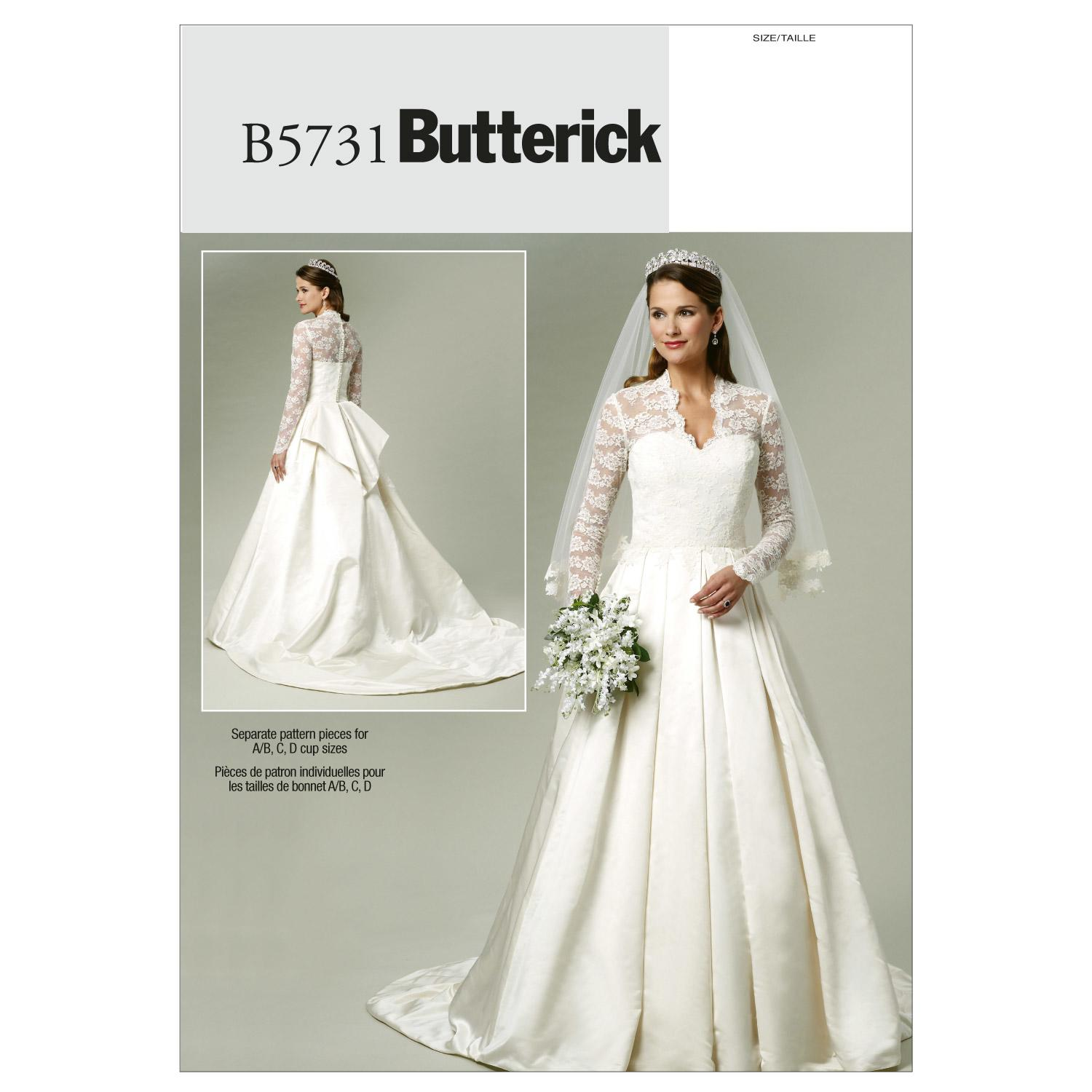 Butterick B5731 Misses' Dress