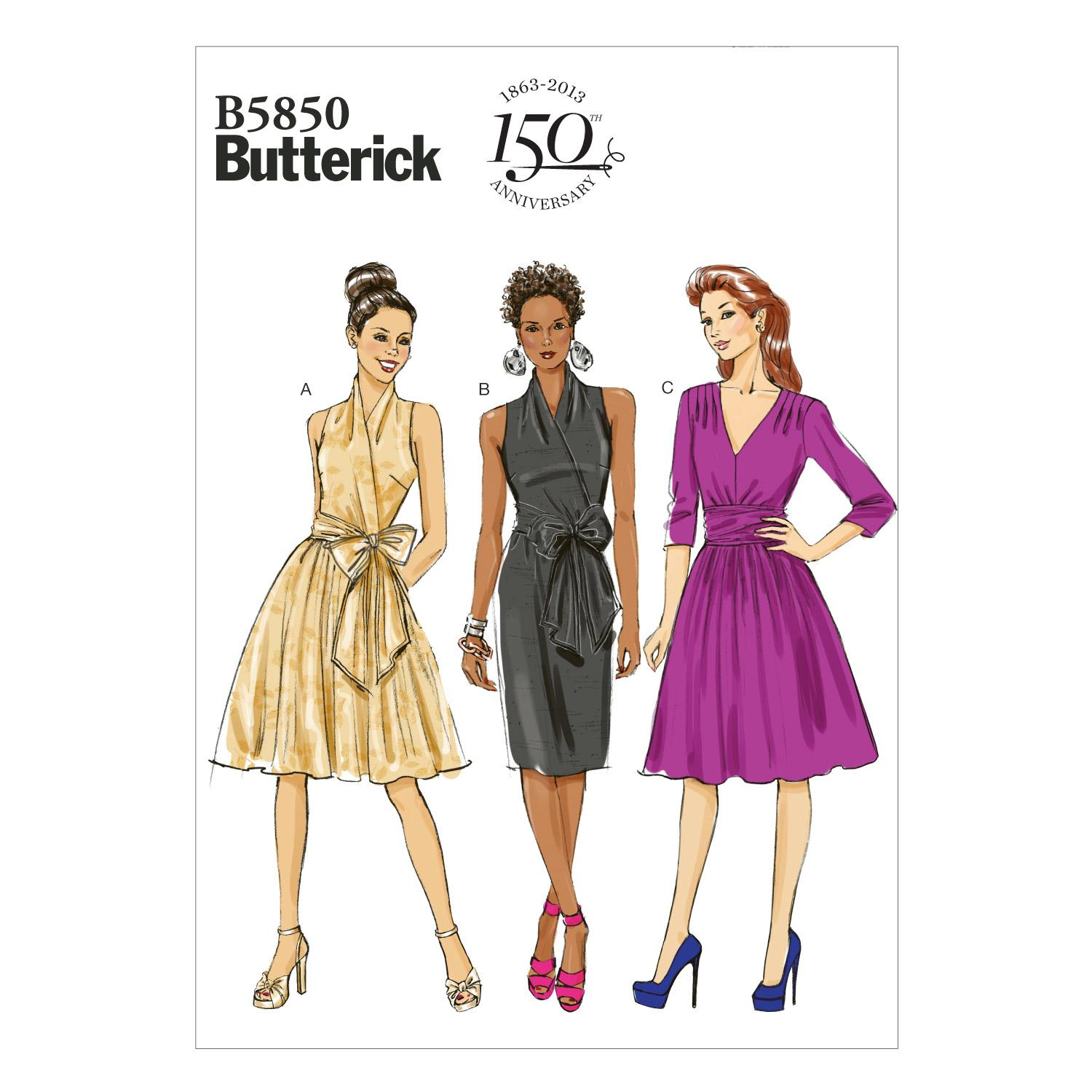 Butterick B5850 Misses' Dress