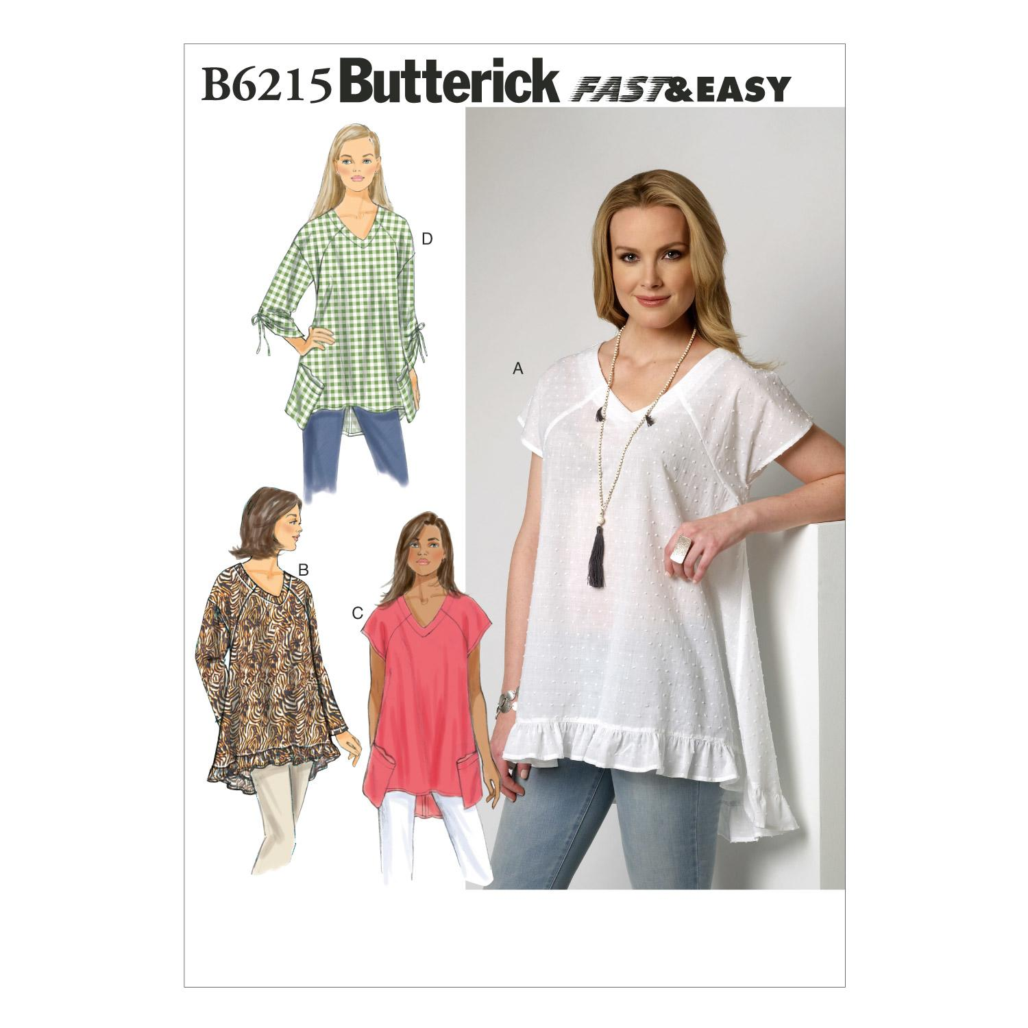 Butterick B6215 Misses' Top