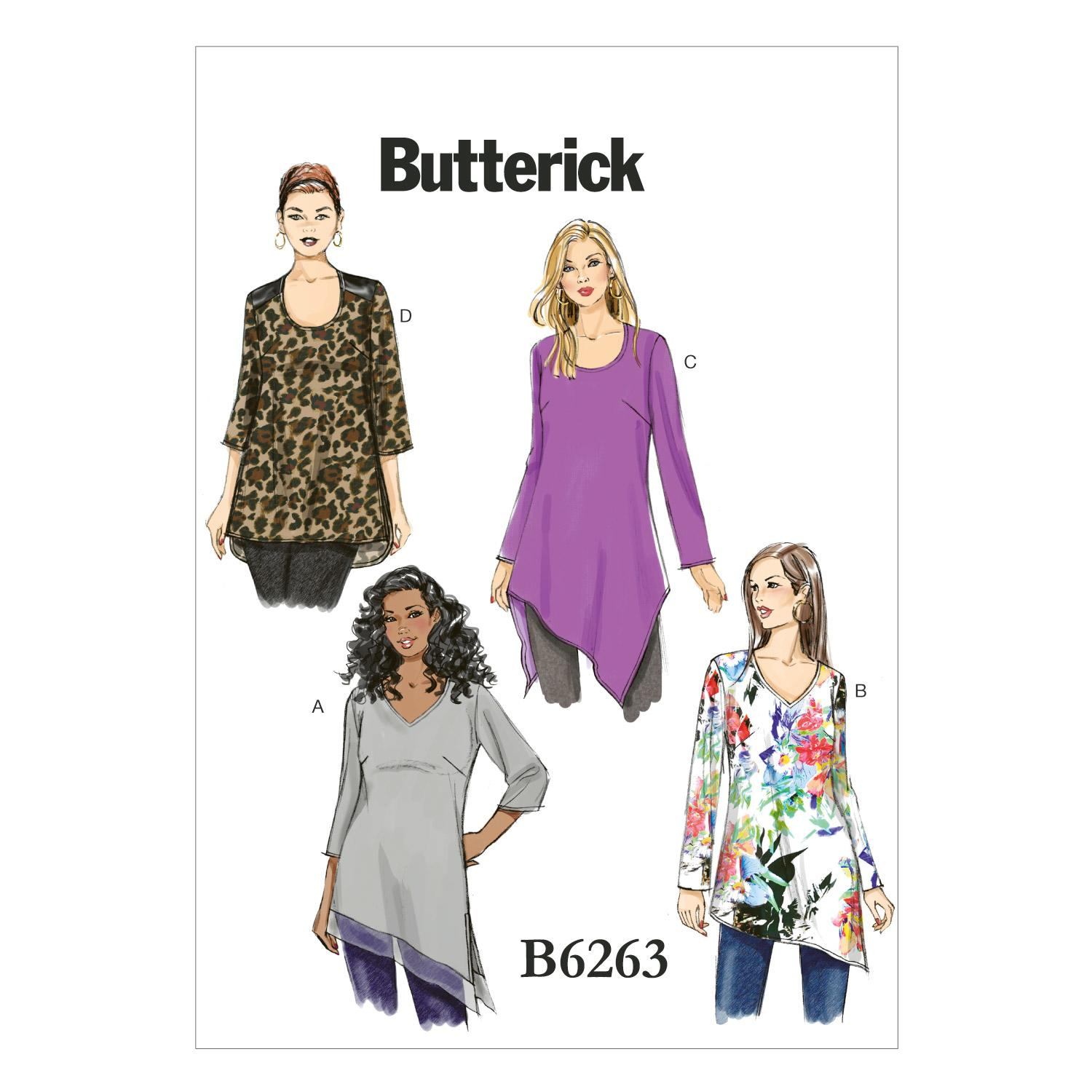 Butterick B6263 Women's Tunic