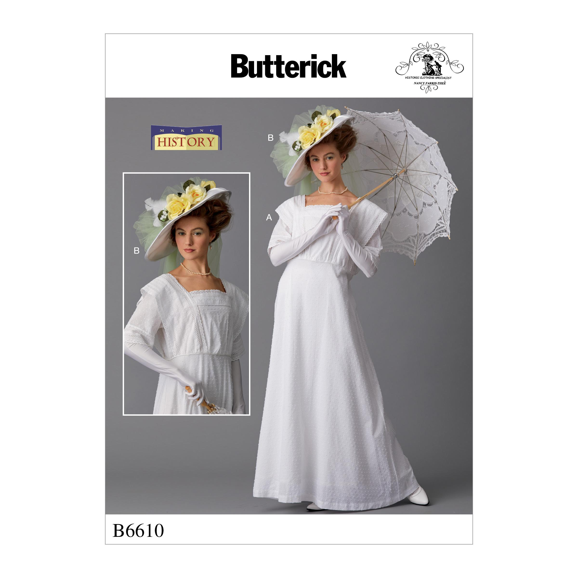 Butterick B6610 Misses' Costume and Hat
