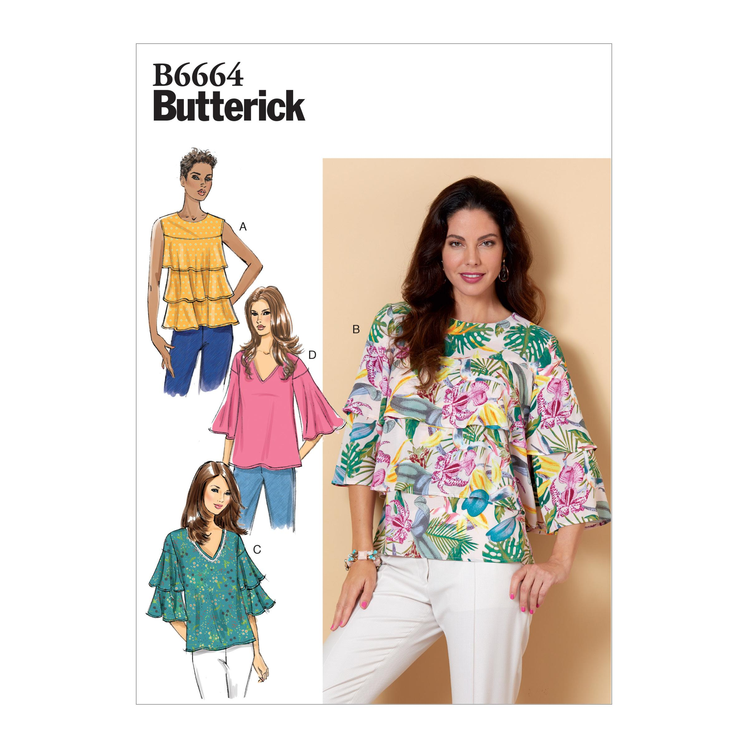 Butterick B6664 Misses' Top