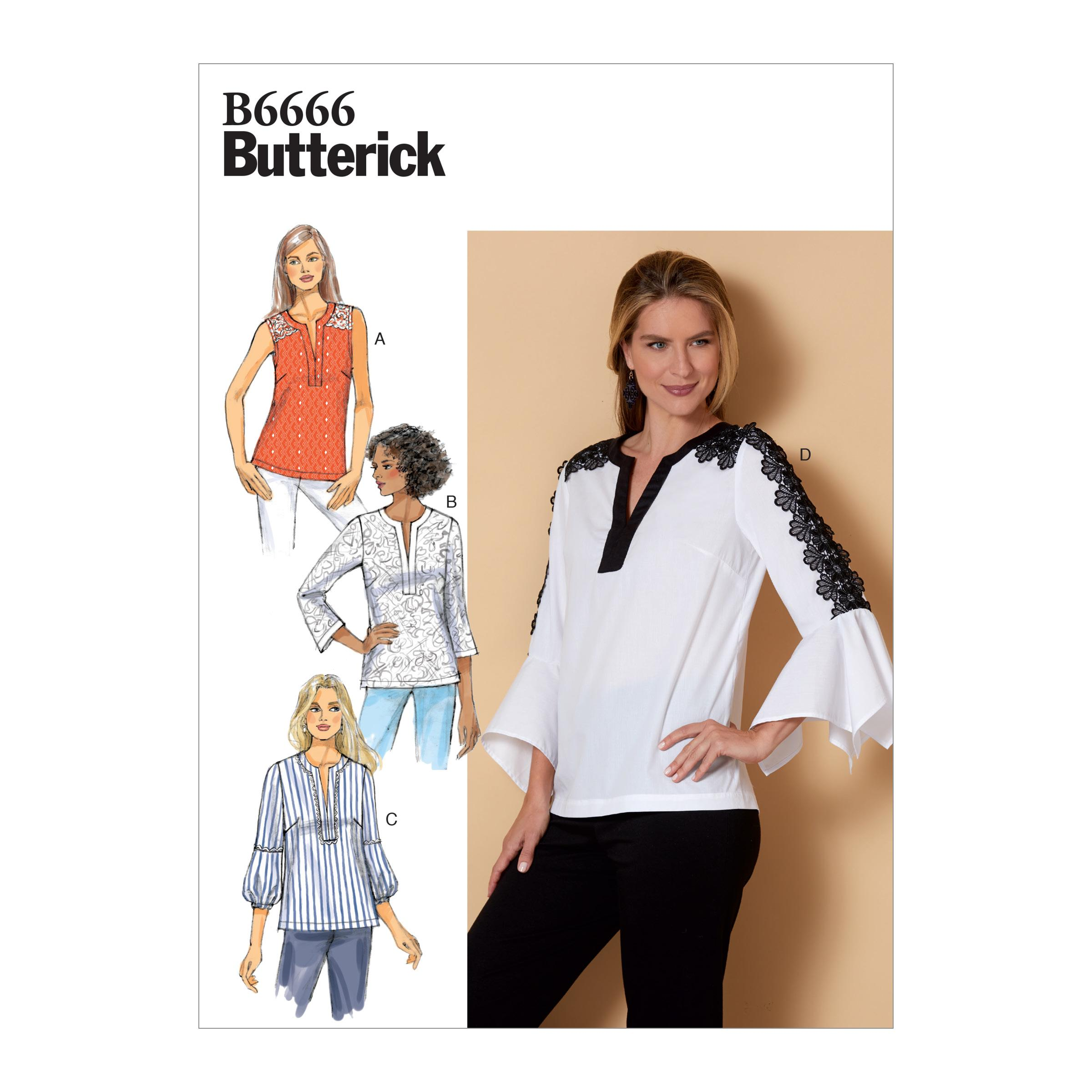 Butterick B6666 Misses' Top