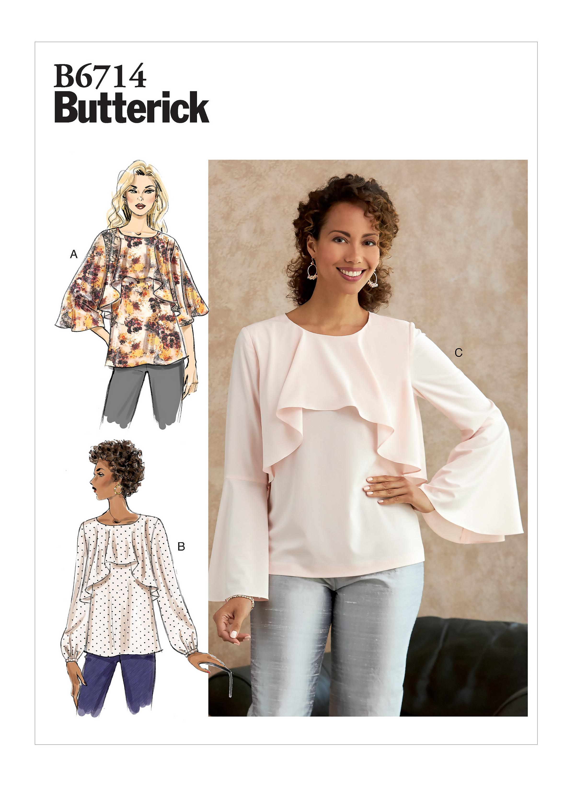 Butterick B6714 Misses' Top