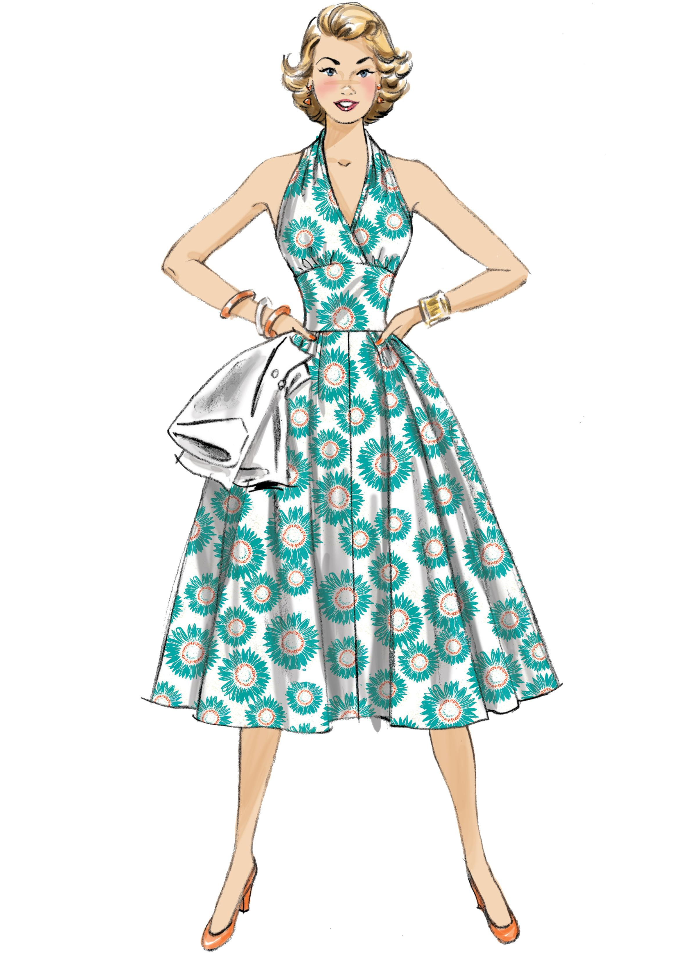 Butterick B6682 Misses' Dress and Jacket