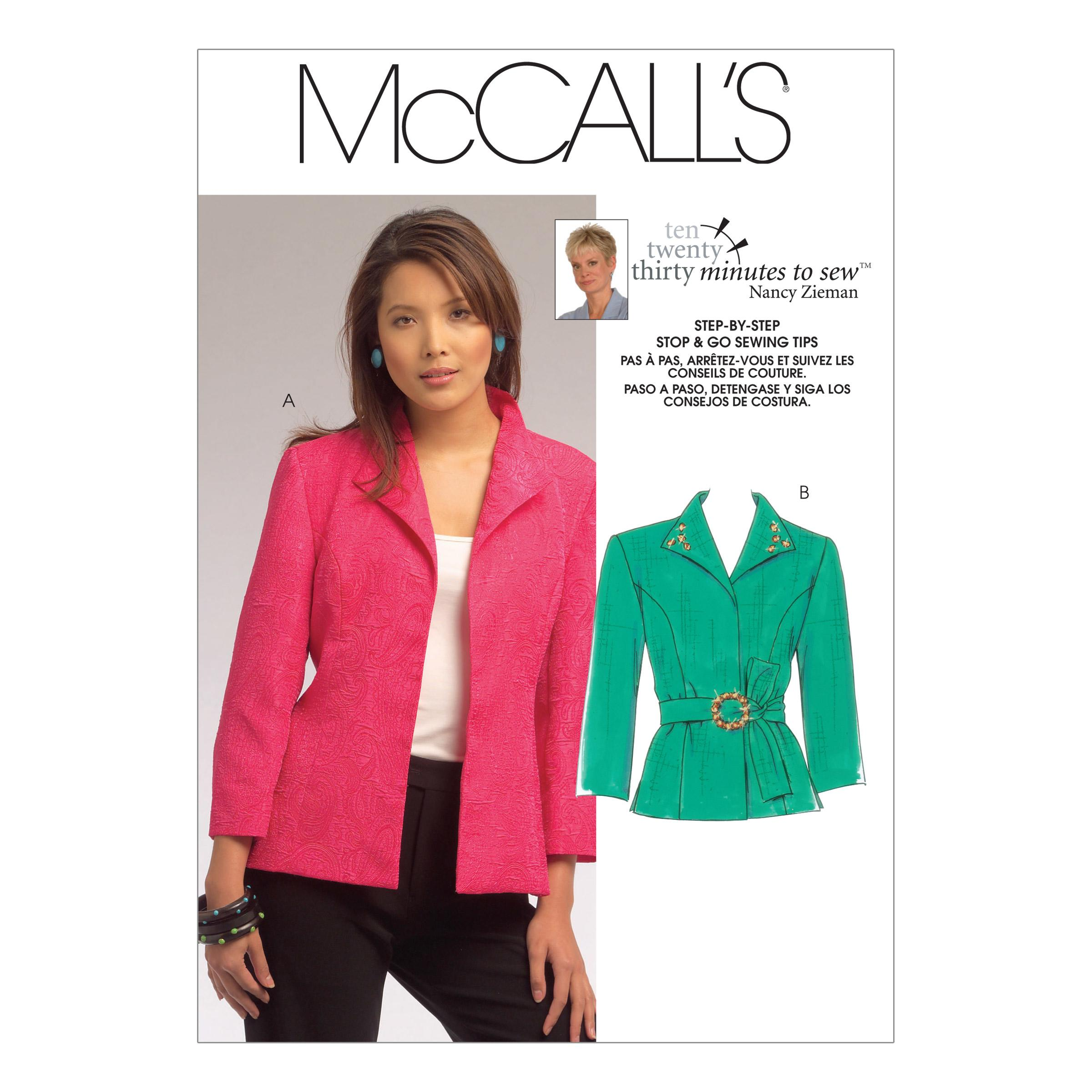 McCalls M5668 Jackets/Vests