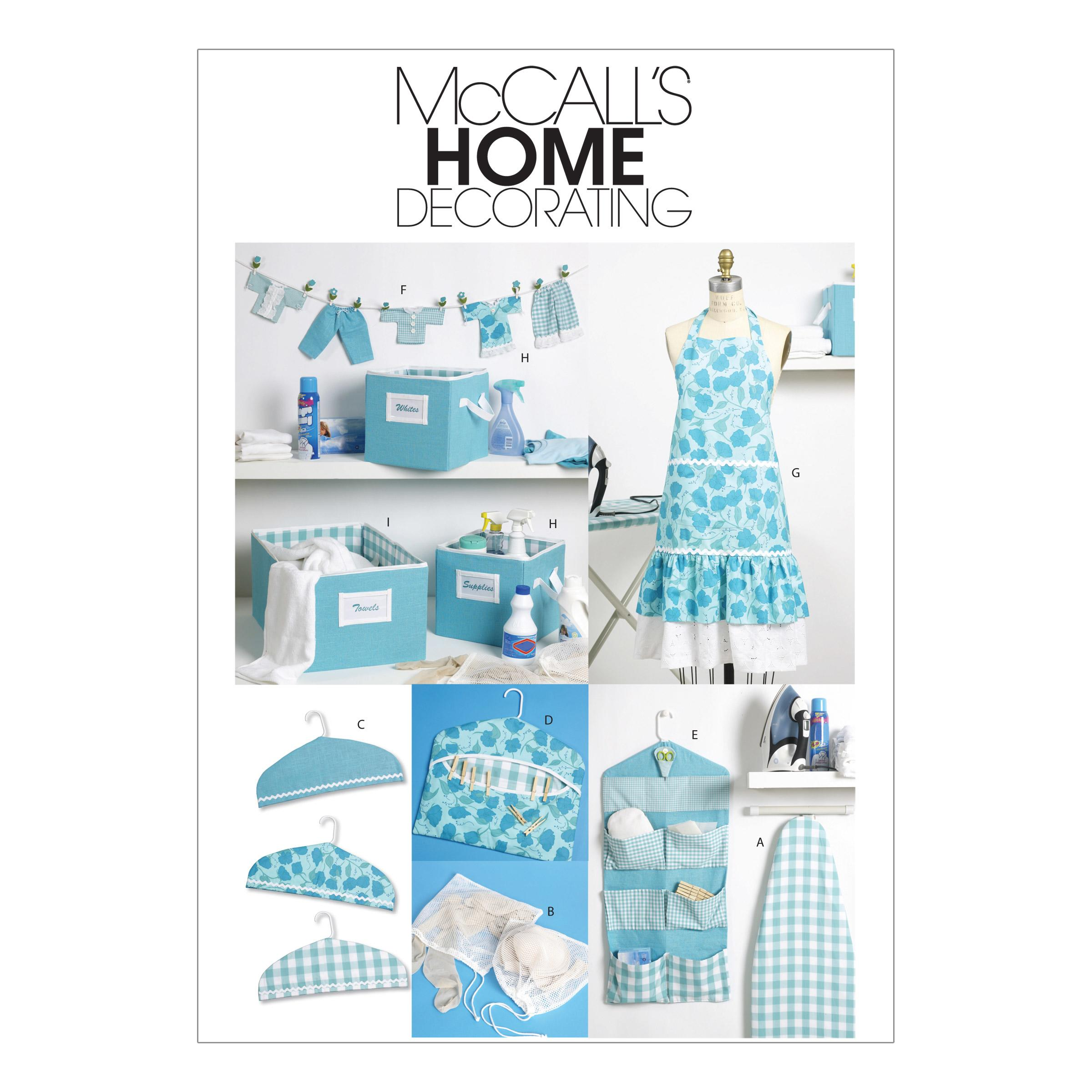 McCalls M6051 Crafts/Dolls/Pets, Home Decorating, Quilts