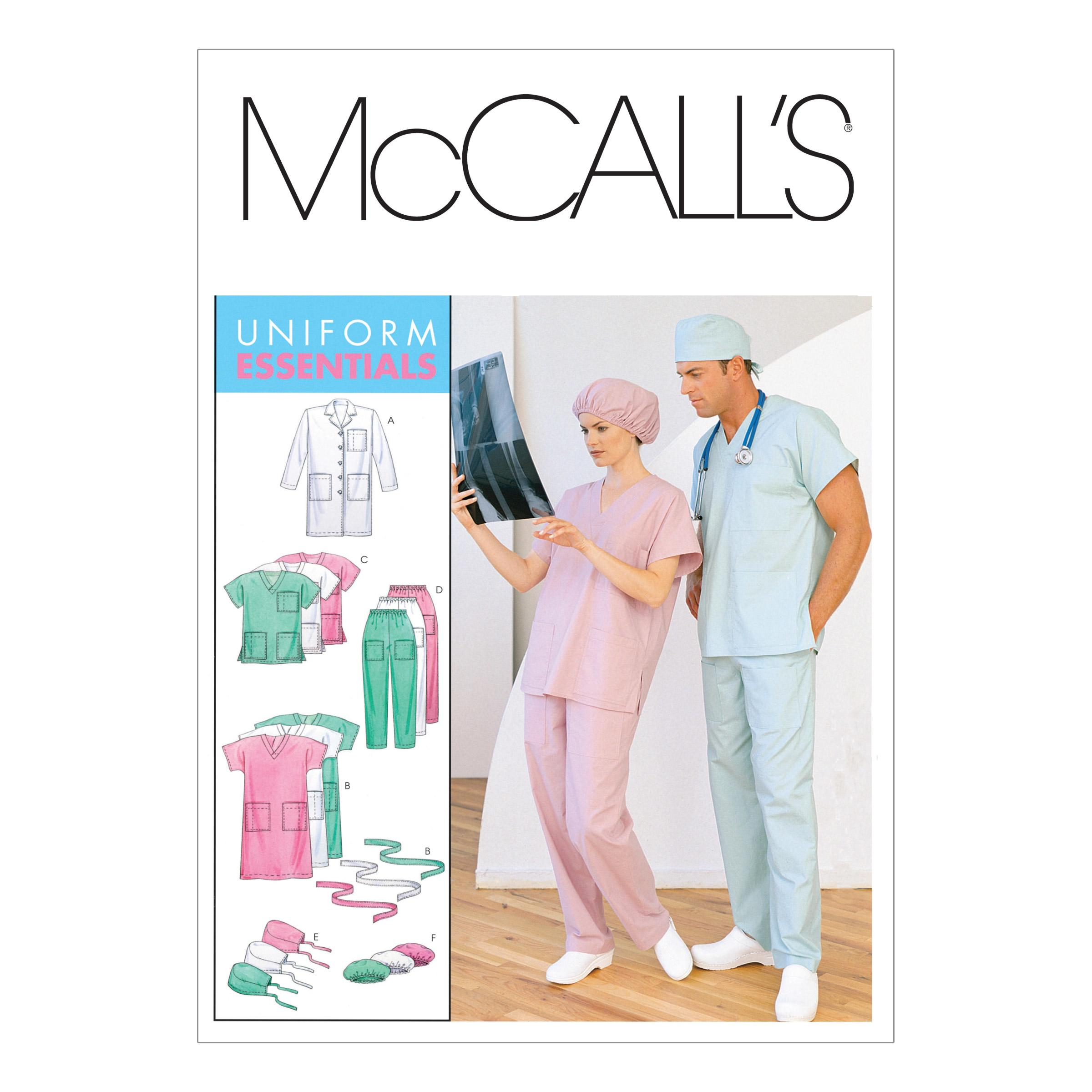 McCalls M6107 Men, Uniforms