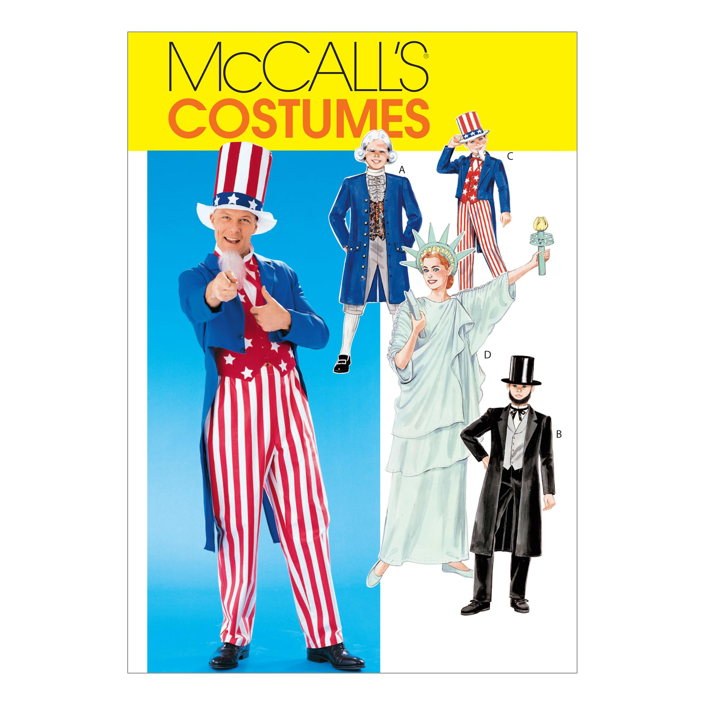 McCalls M6143 Costumes, Halloween