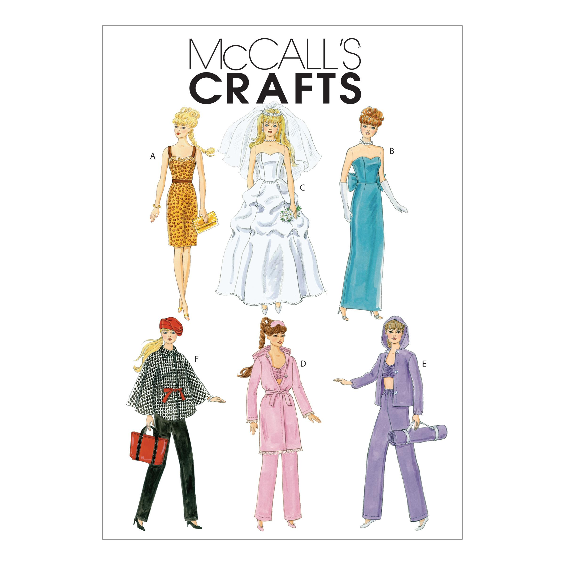 McCalls M6258 Crafts/Dolls/Pets