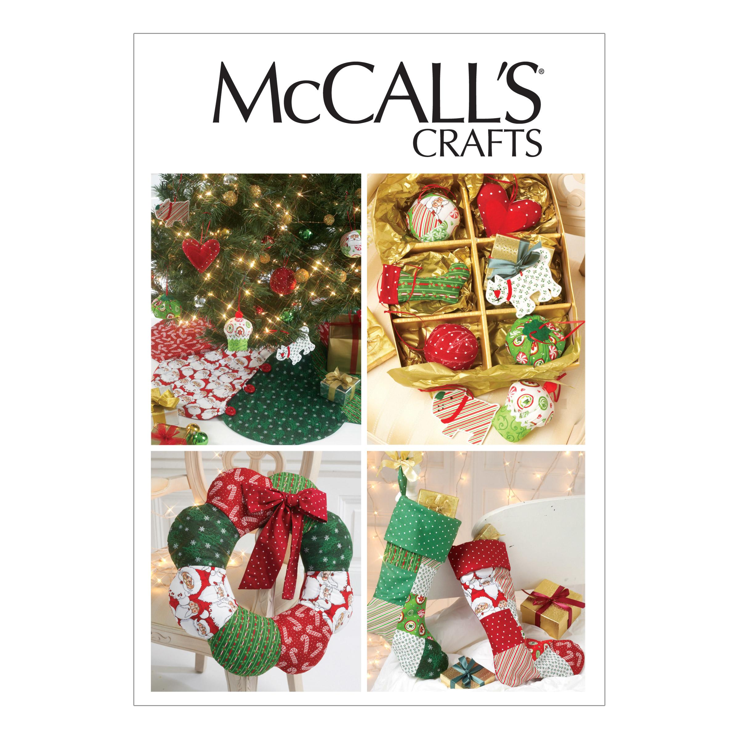 McCalls M6453 Crafts/Dolls/Pets, Home Decorating, Seasonal/Holiday