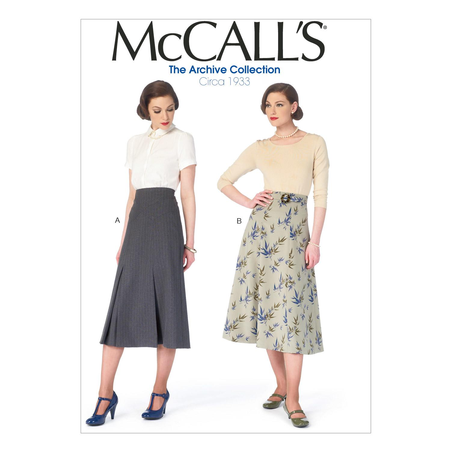 McCalls M6993 Coordinates, Skirts, The Archive Collection