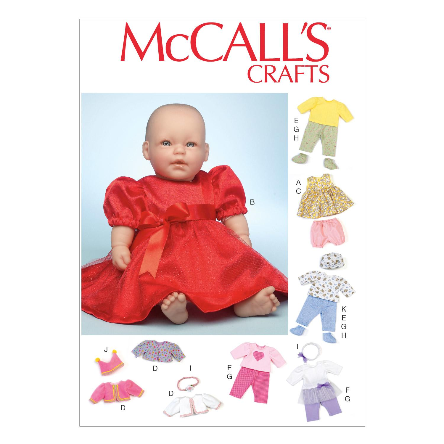 McCalls M7066 Crafts/Dolls/Pets