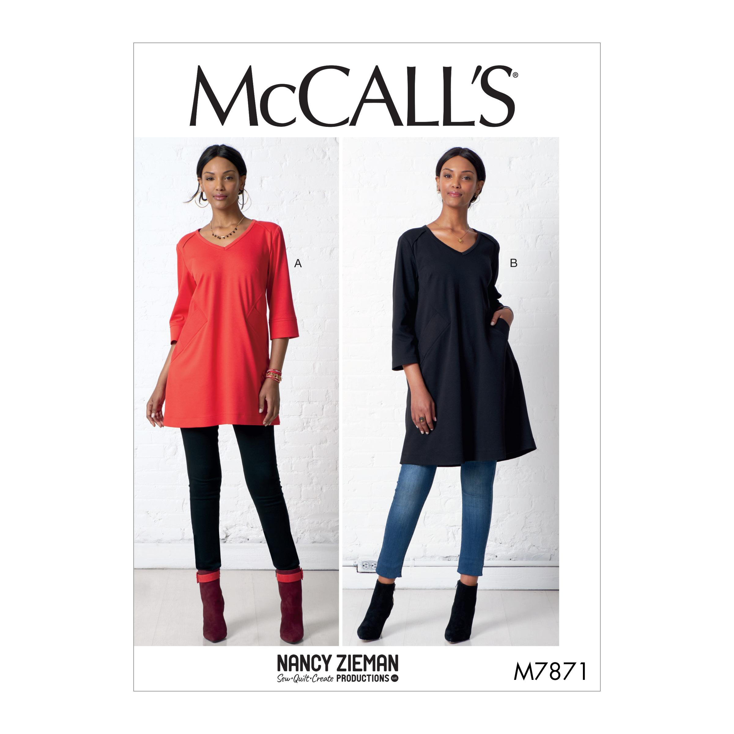 McCalls M7871 Misses Tops