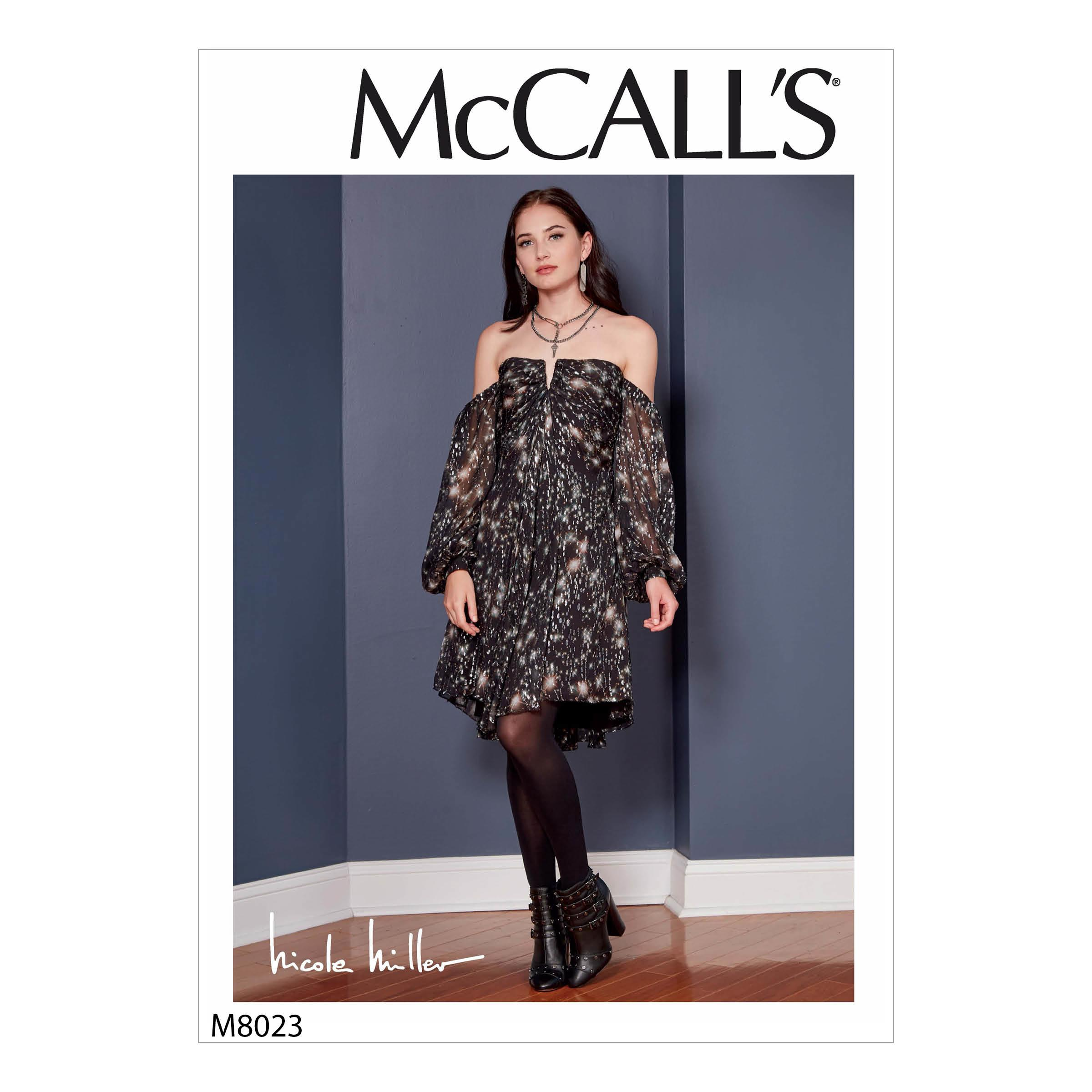 McCalls M8023 Misses Dresses, Misses Prom, Evening & Bridal