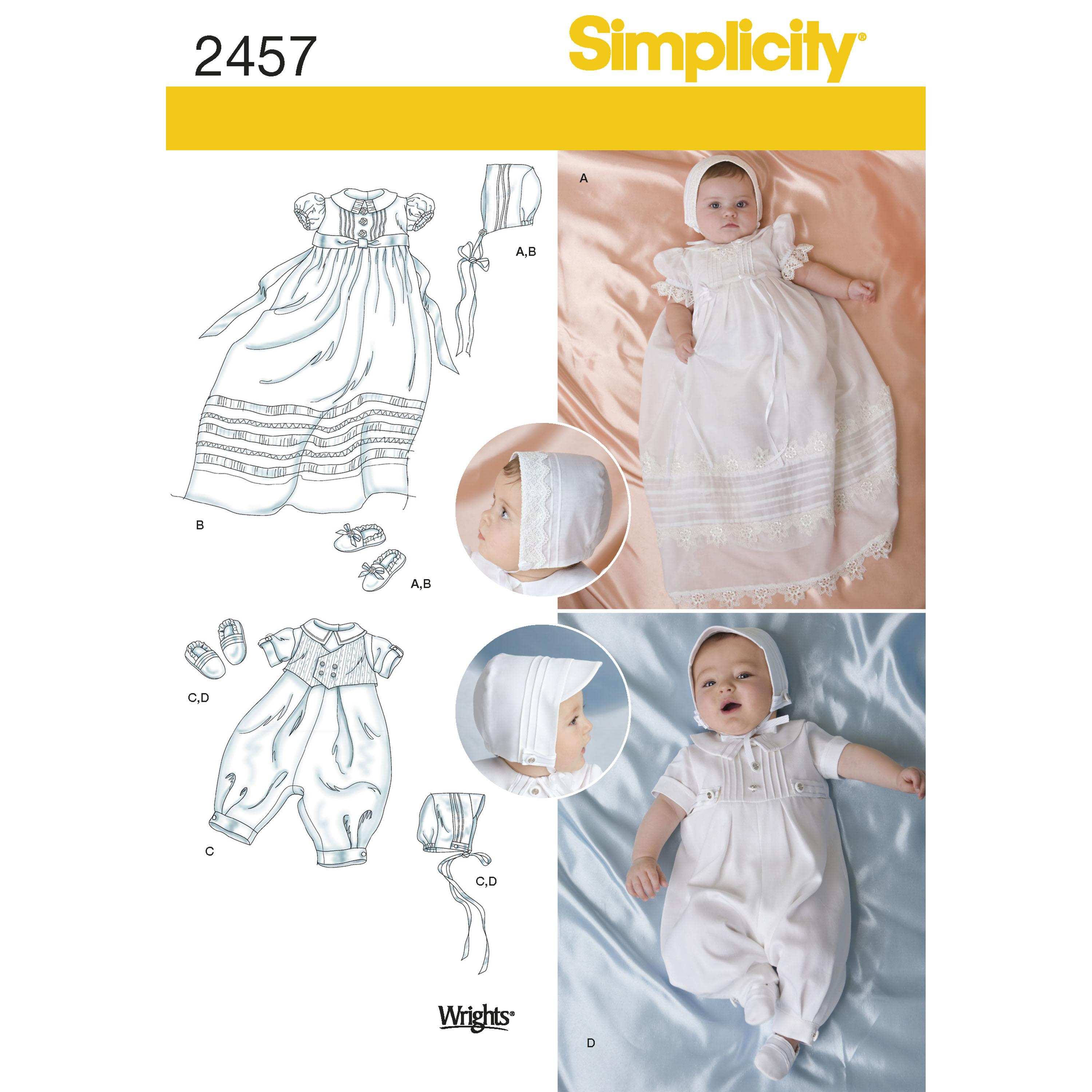 Simplicity S2457 Babies' Special Occasion