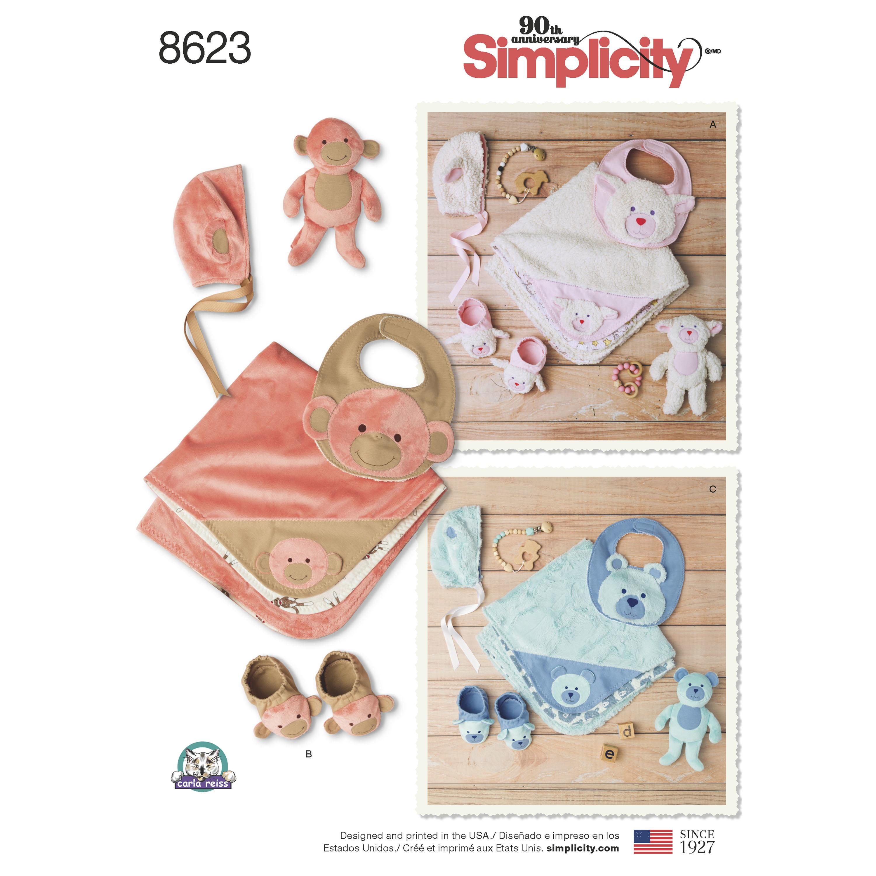 Simplicity S8623 Baby Accessories